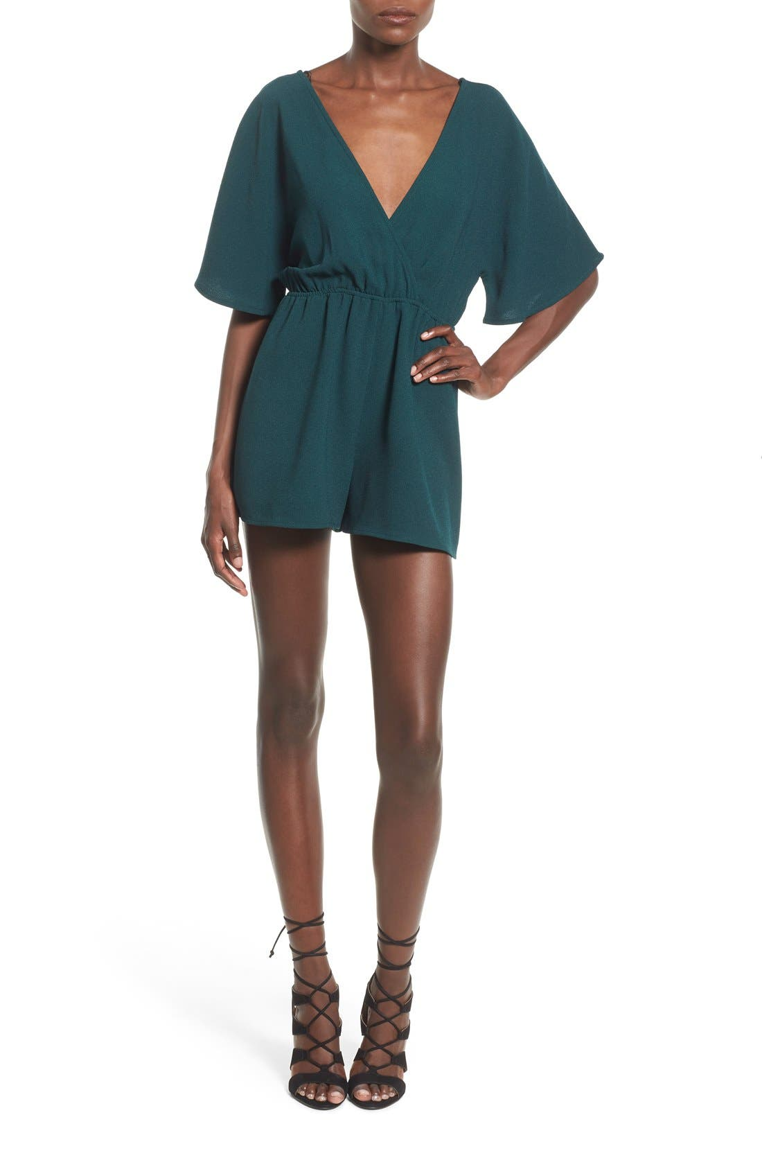 Alternate Image 1 Selected - Leith Tie Back Romper