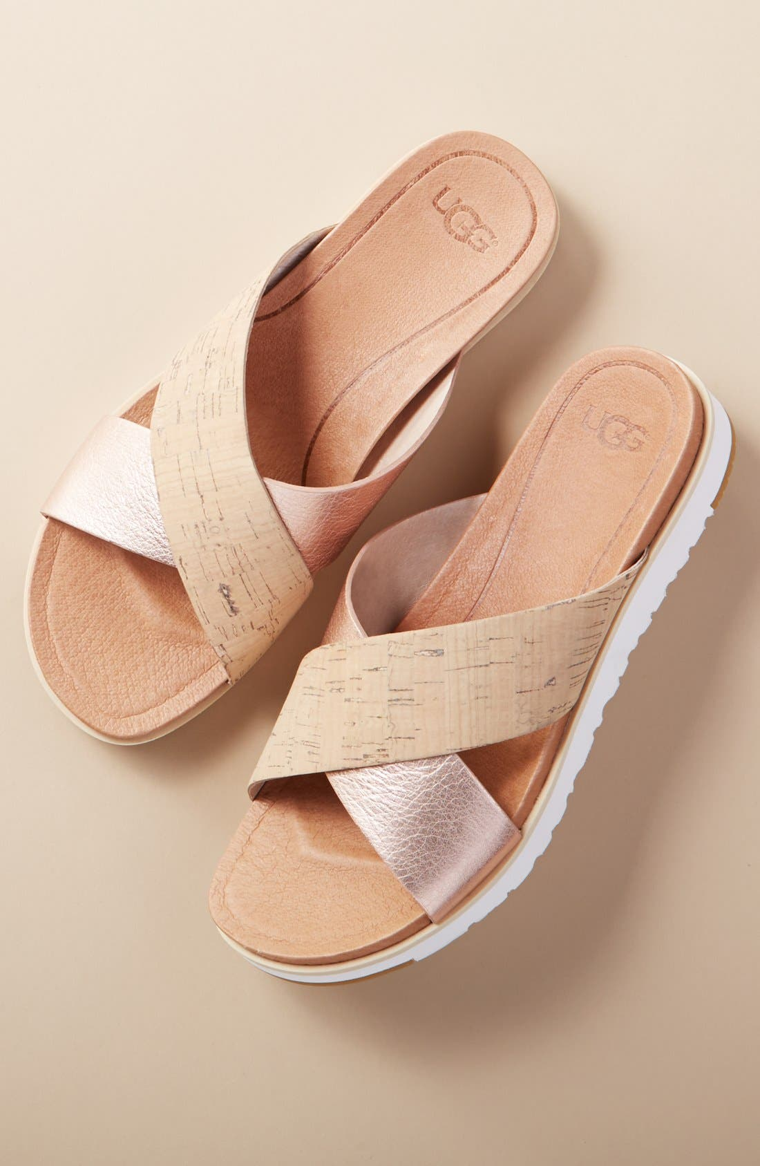 Alternate Image 7  - UGG® 'Kari' Sandal (Women)