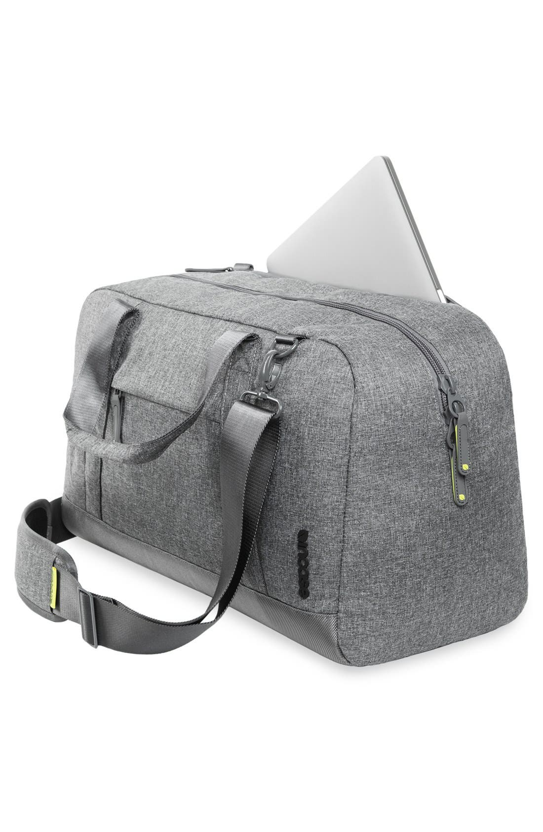 EO Duffel Bag,                             Alternate thumbnail 6, color,                             Heather Grey