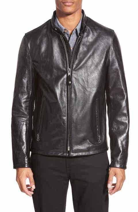 black leather jacket | Nordstrom