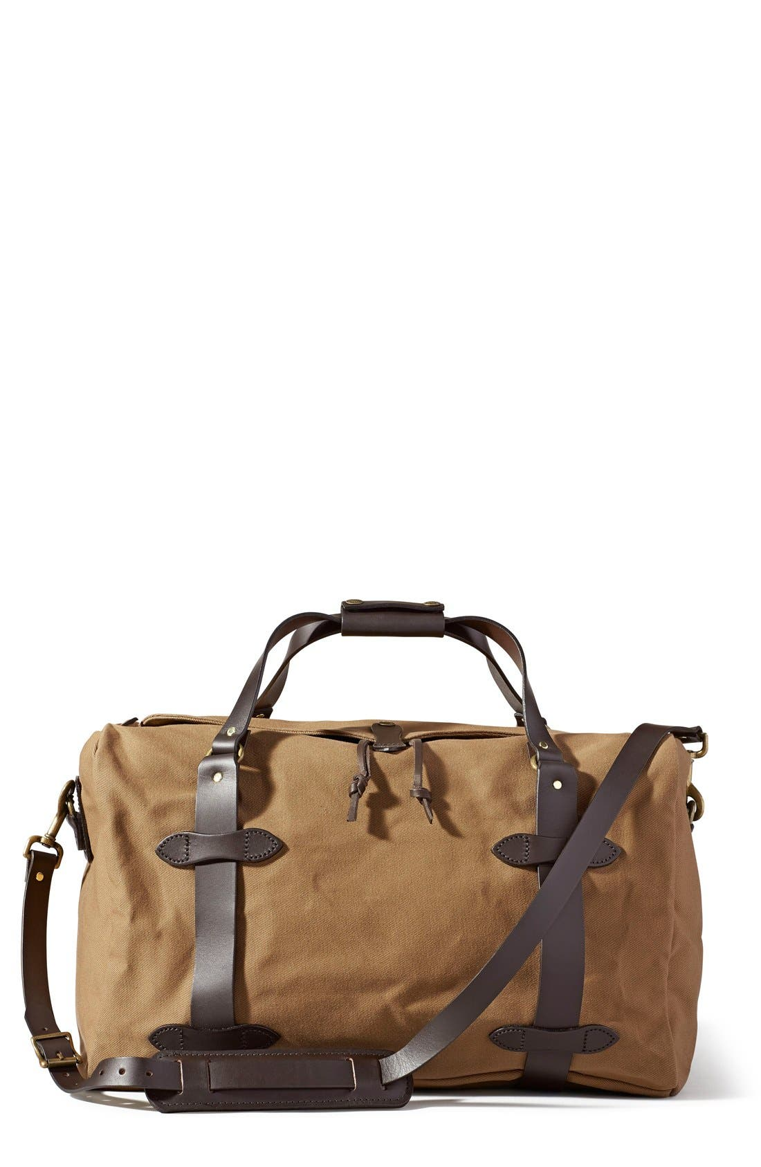 Medium Duffel Bag,                             Main thumbnail 1, color,                             Tan