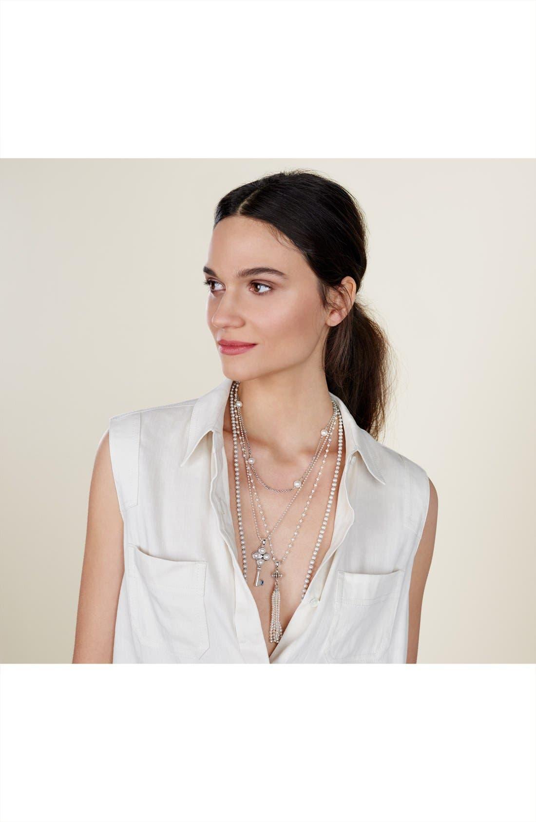 Alternate Image 3  - LAGOS 'Luna' Pearl Long Key Pendant Necklace