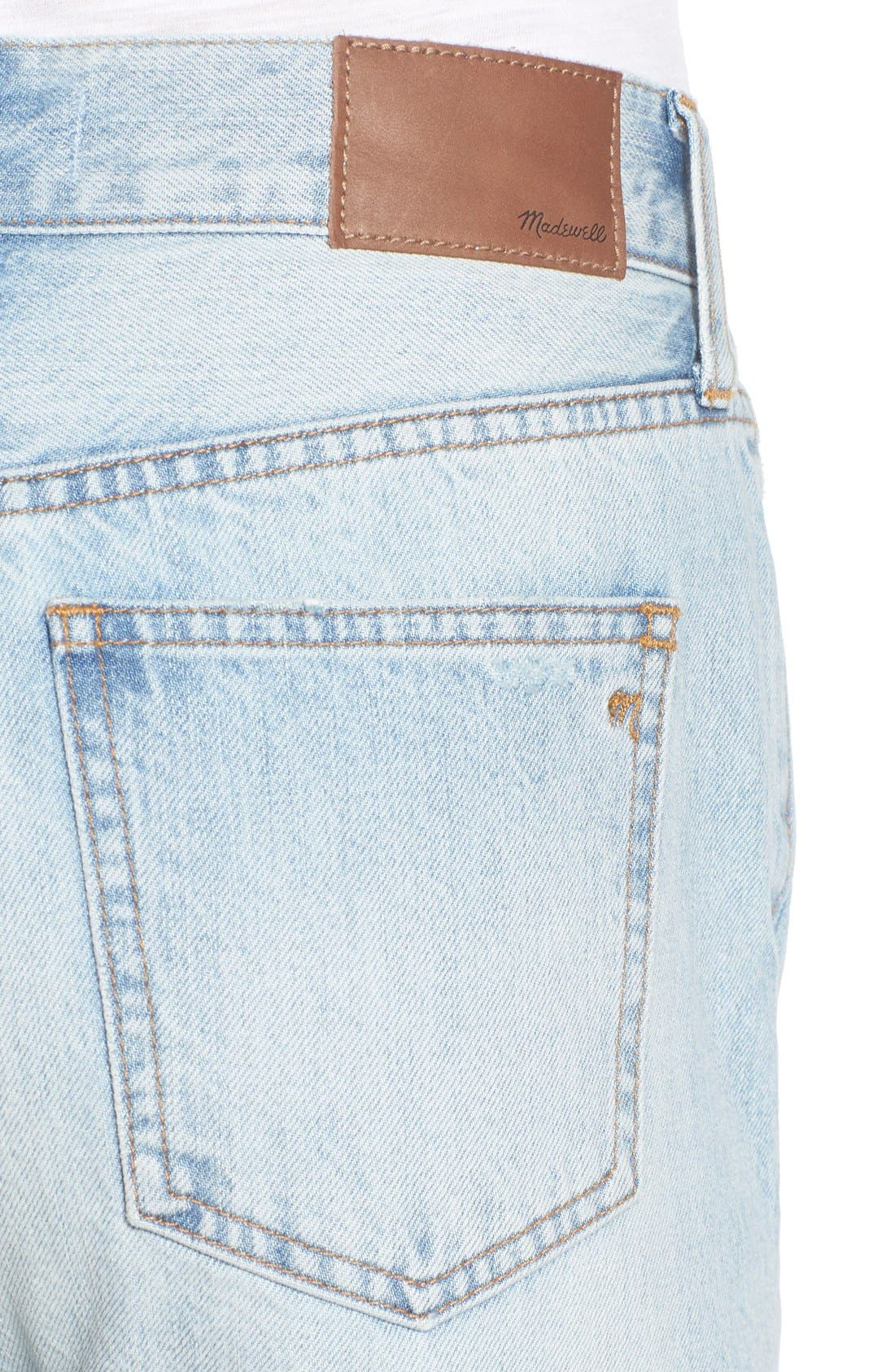 'Perfect Summer' High Rise Ankle Jeans,                             Alternate thumbnail 5, color,                             Fitzgerald Wash