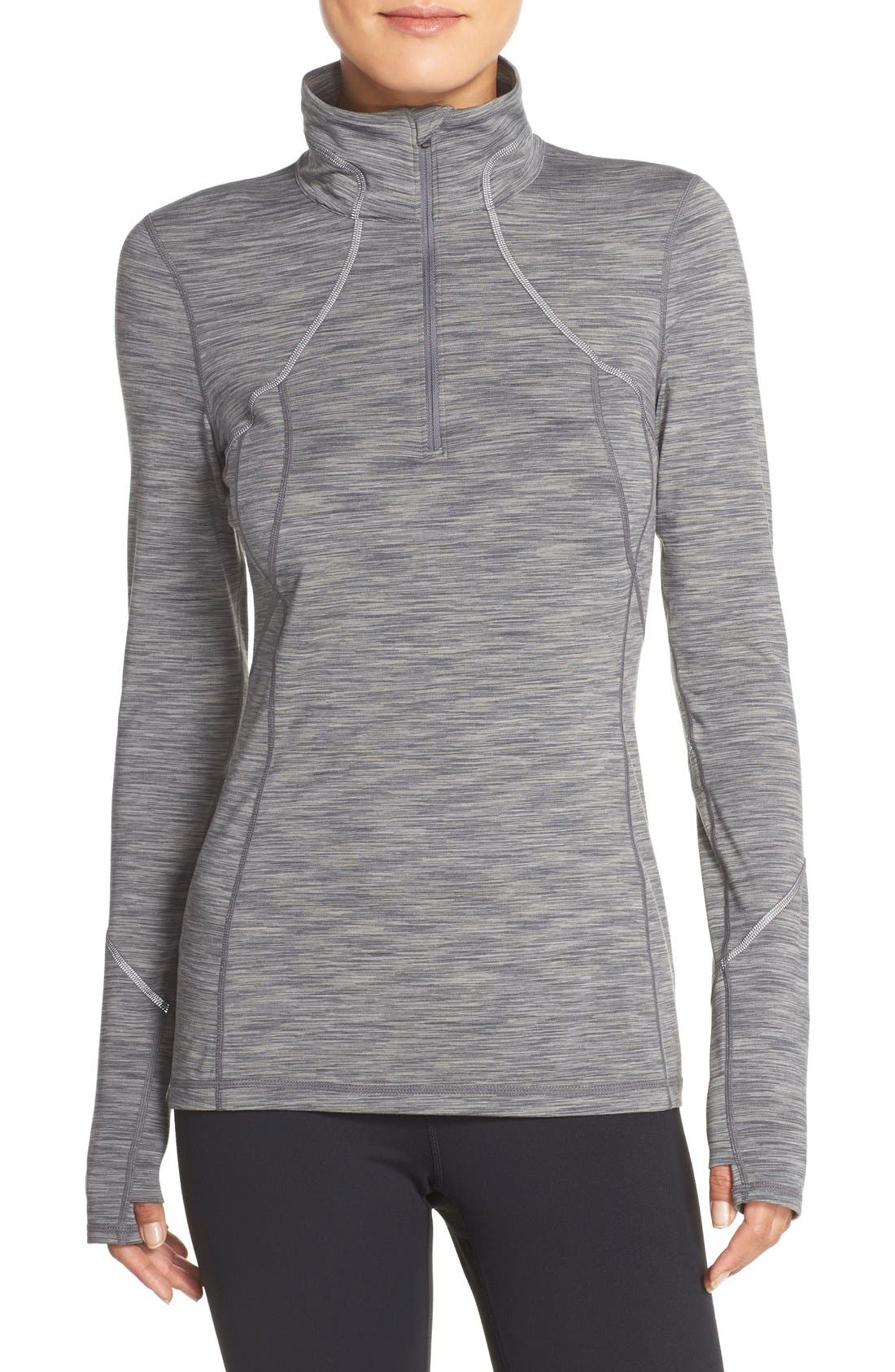 Alternate Image 1 Selected - Zella 'Revelation' Half Zip Top