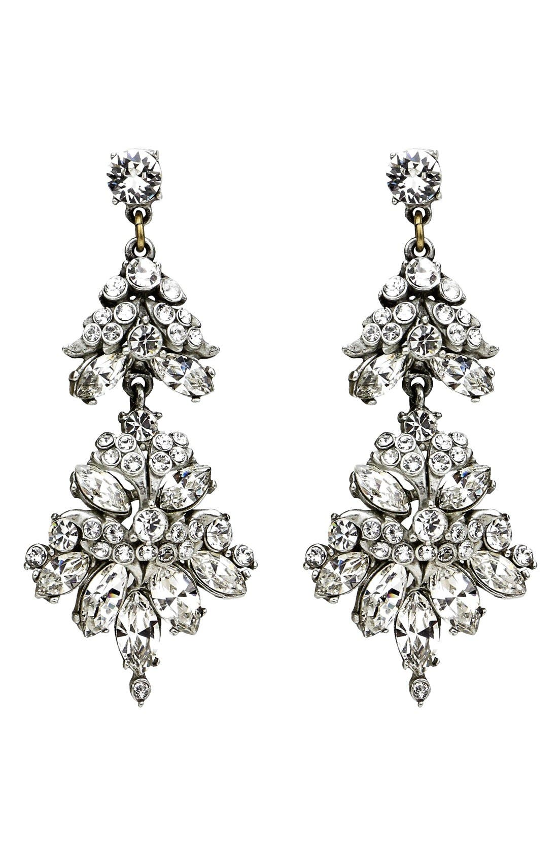 Alternate Image 1 Selected - Ben-Amun Crystal Statement Earrings