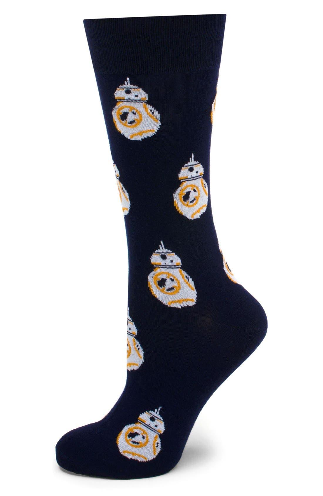 Alternate Image 1 Selected - Cufflinks Inc 'BB-8' Socks