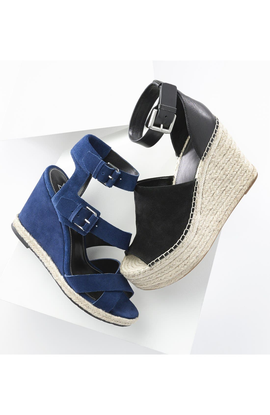 'Adalyn' Espadrille Wedge Sandal,                             Alternate thumbnail 5, color,