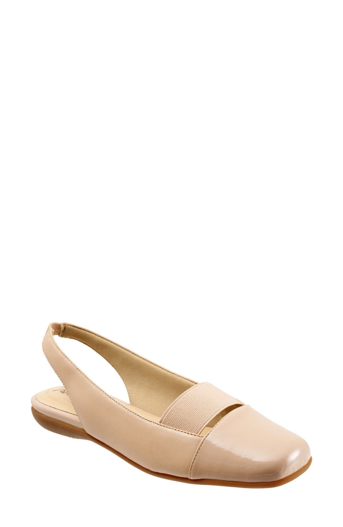 Alternate Image 1 Selected - Trotters 'Sarina' Slingback Flat (Women)