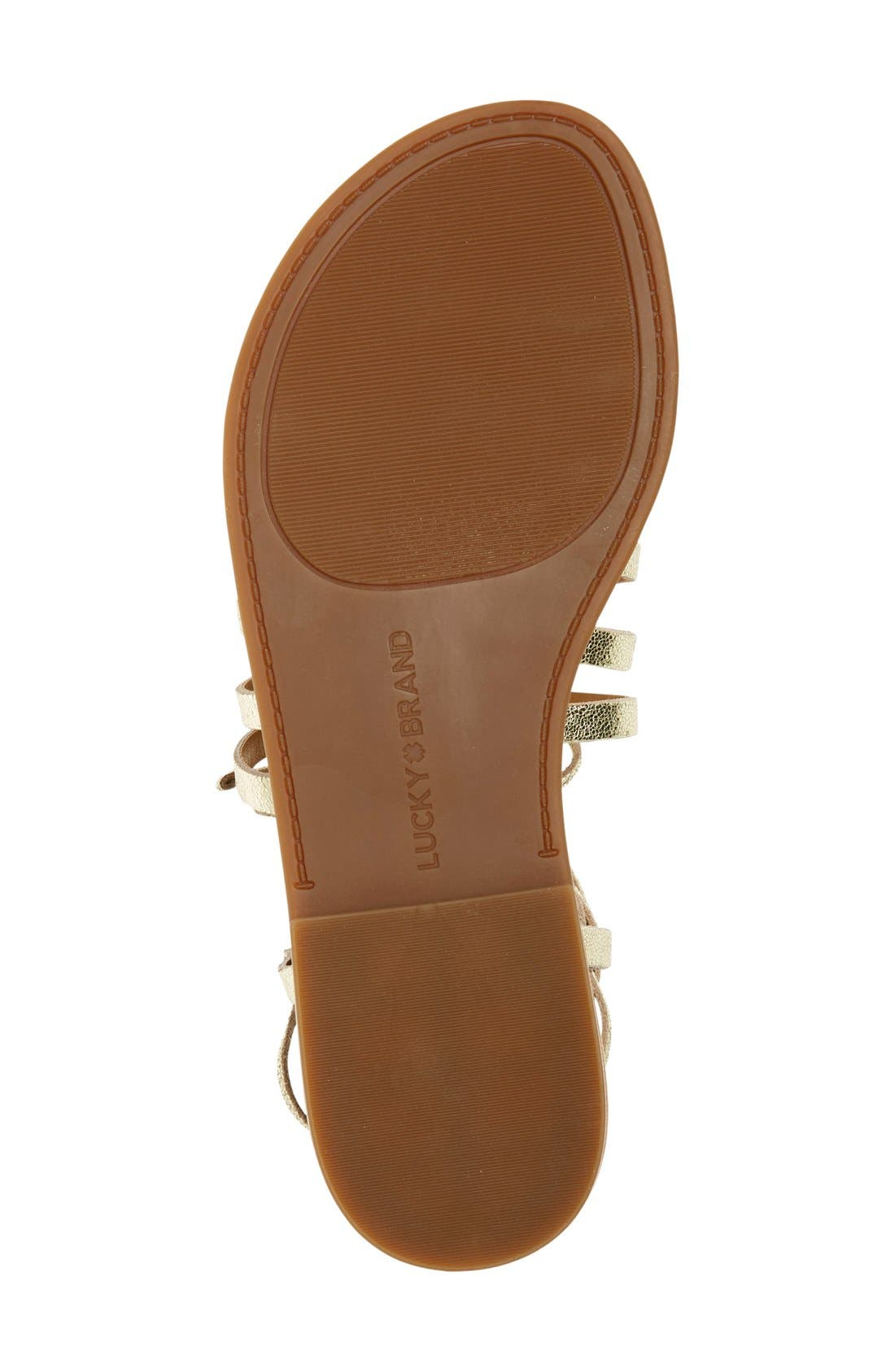 Alternate Image 4  - Lucky Brand 'Colette' Gladiator Sandal (Women)