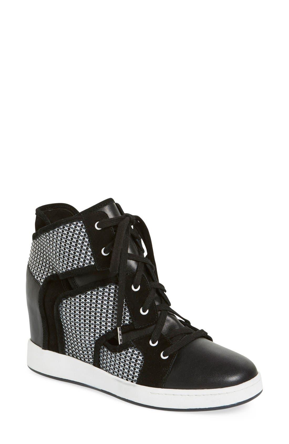 Alternate Image 1 Selected - L.A.M.B. 'Gera' Hidden Wedge Sneaker (Women)