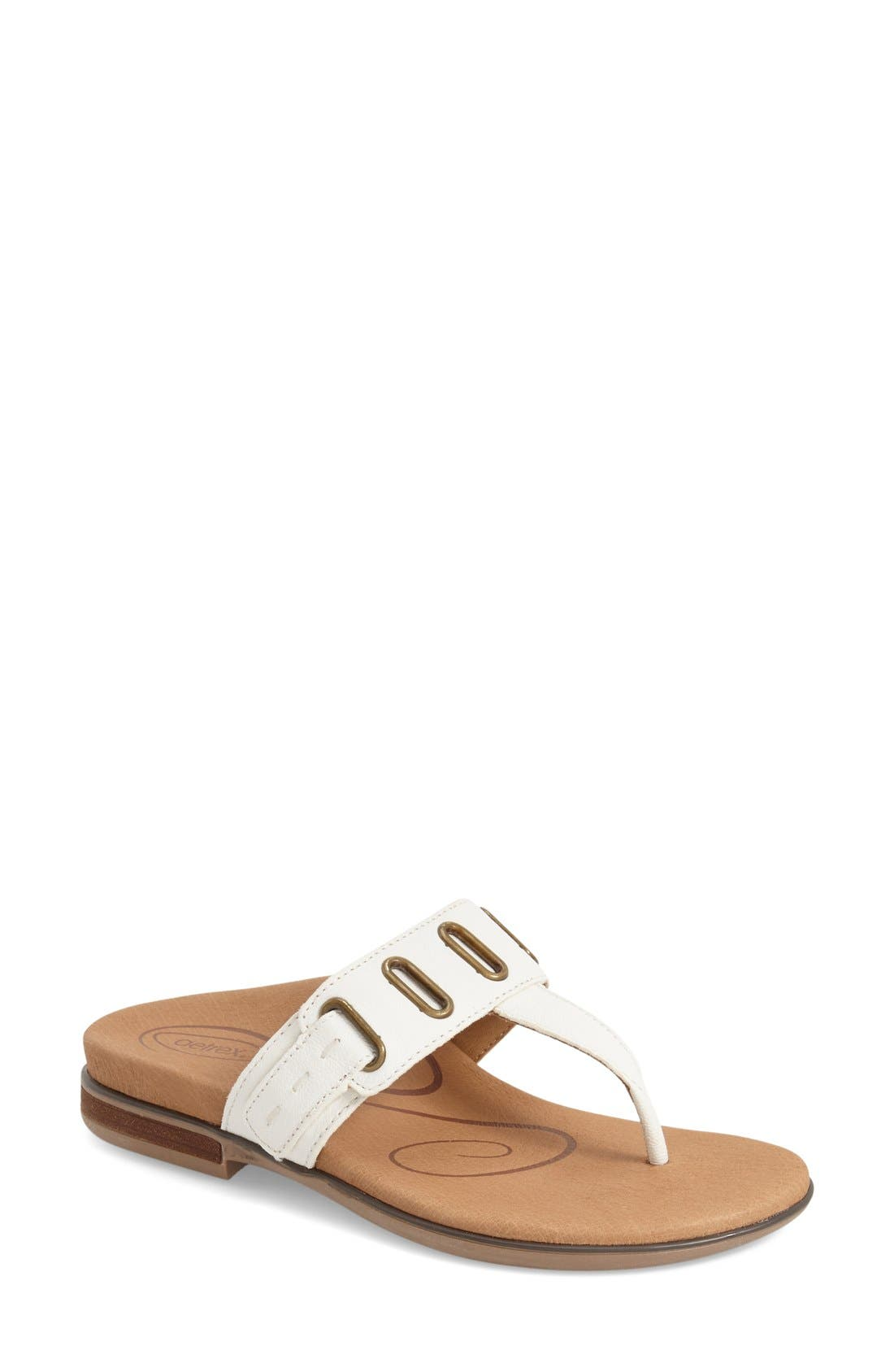 Aetrex 'Zara' Flip Flop (Women)