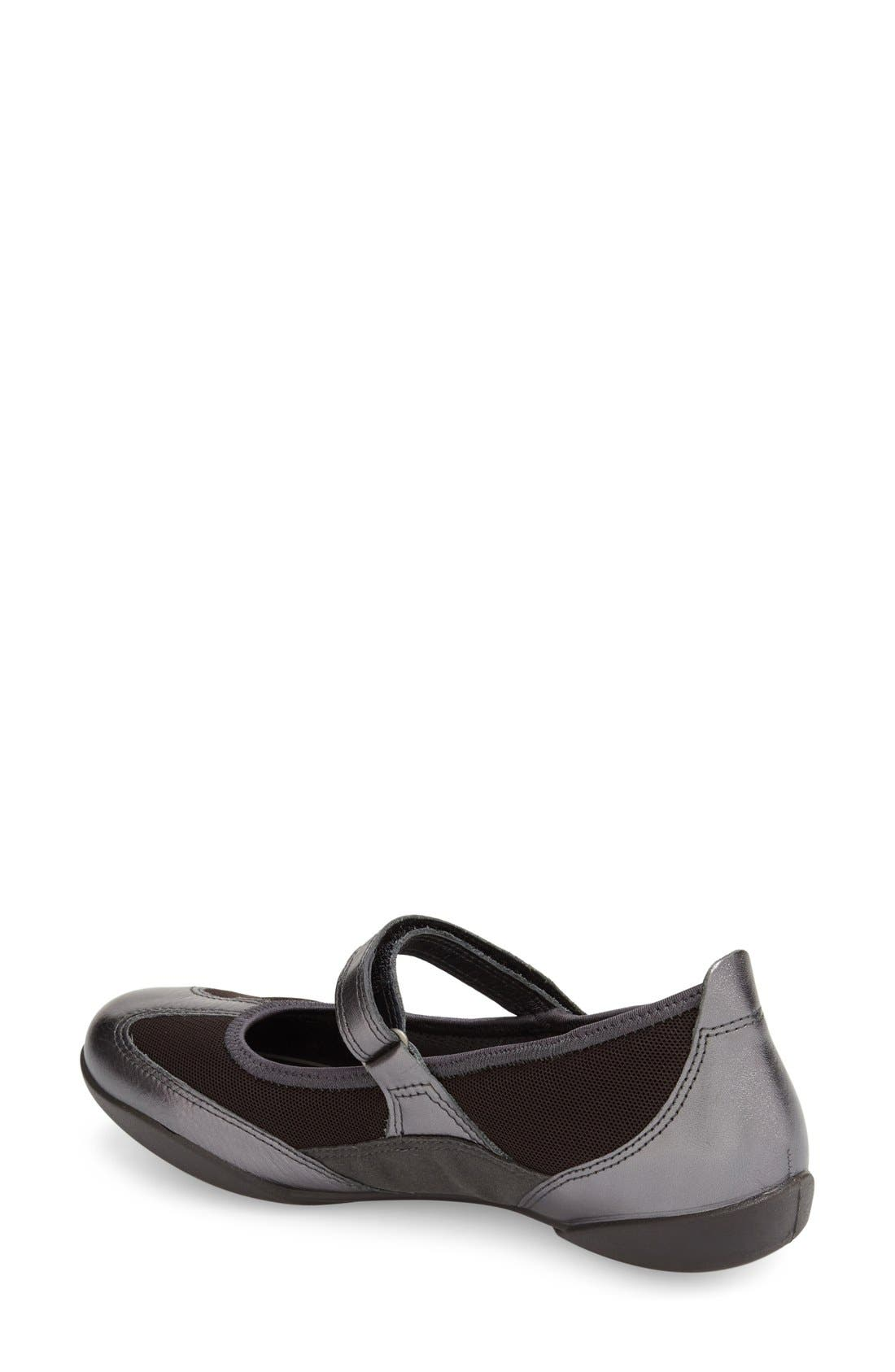 Alternate Image 2  - ECCO 'Bluma' Mary Jane Flat (Women)