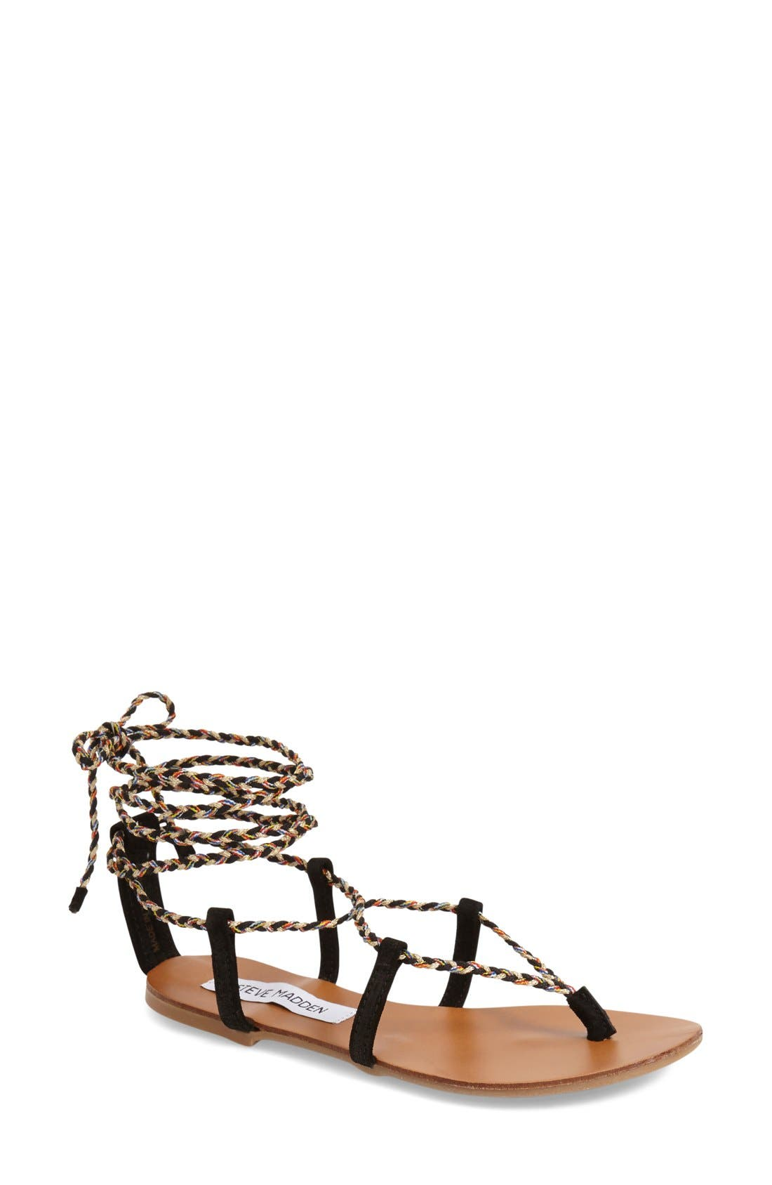 Alternate Image 1 Selected - Steve Madden 'Werkit' Gladiator Sandal (Women)