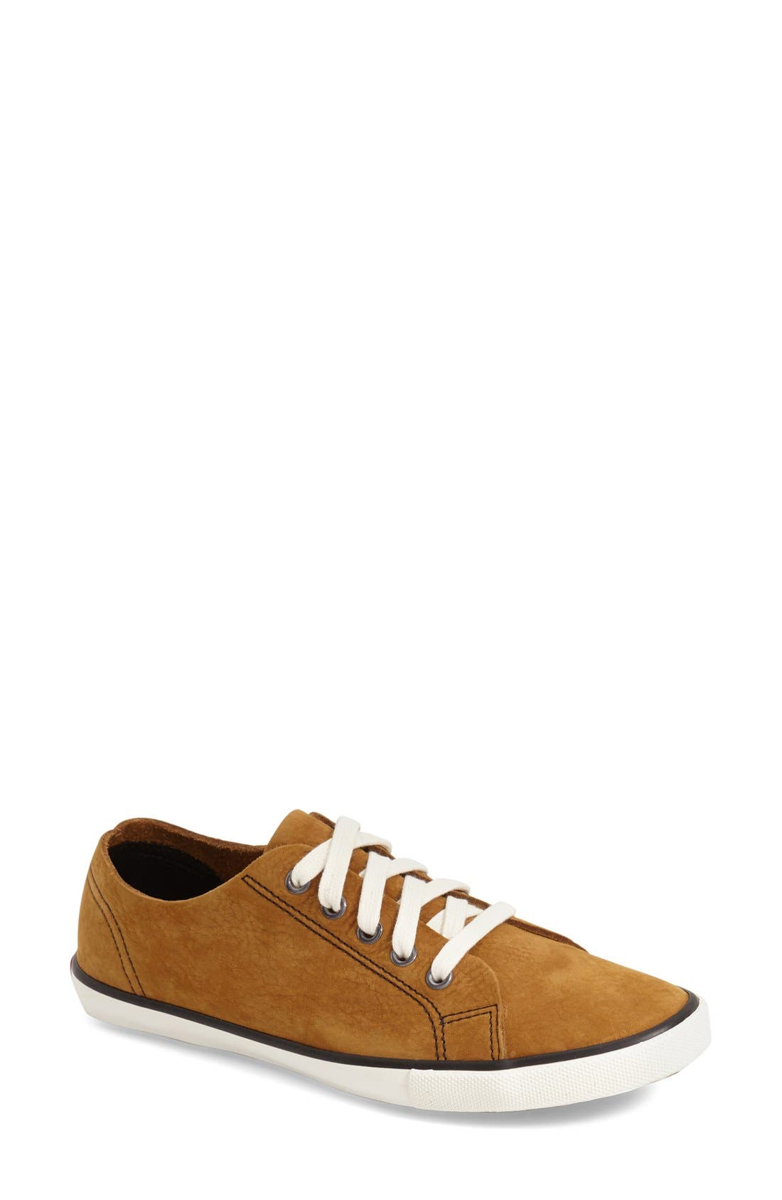 'Strand' Low-Top Sneaker,                             Main thumbnail 1, color,                             Toasty Nubuck