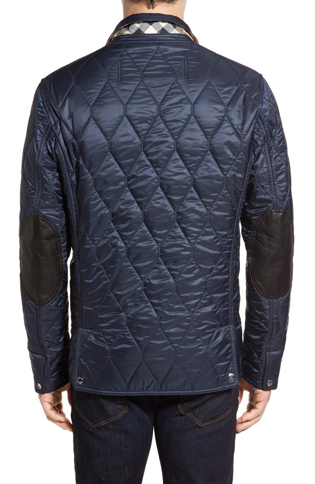 Alternate Image 2  - Burberry Gillington Water Resistant Quilted Jacket