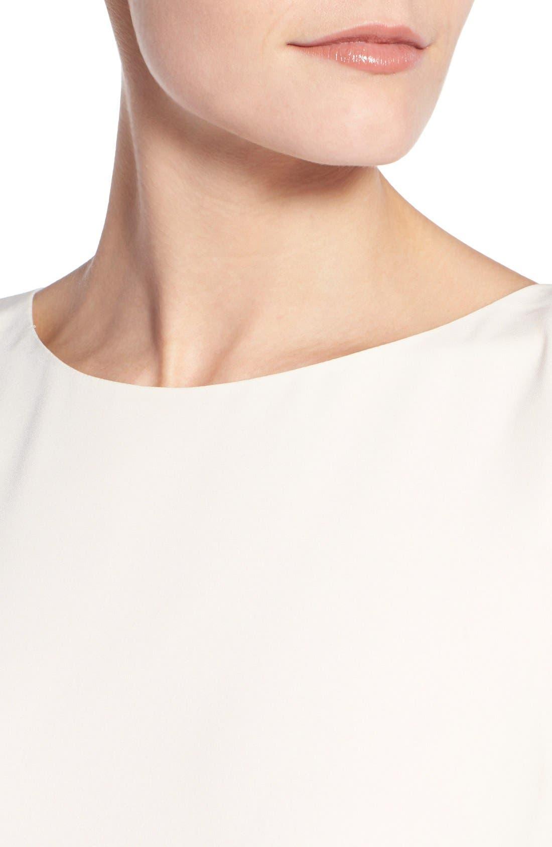 Alternate Image 4  - Halogen® Colorblock Shift Dress (Regular & Petite)
