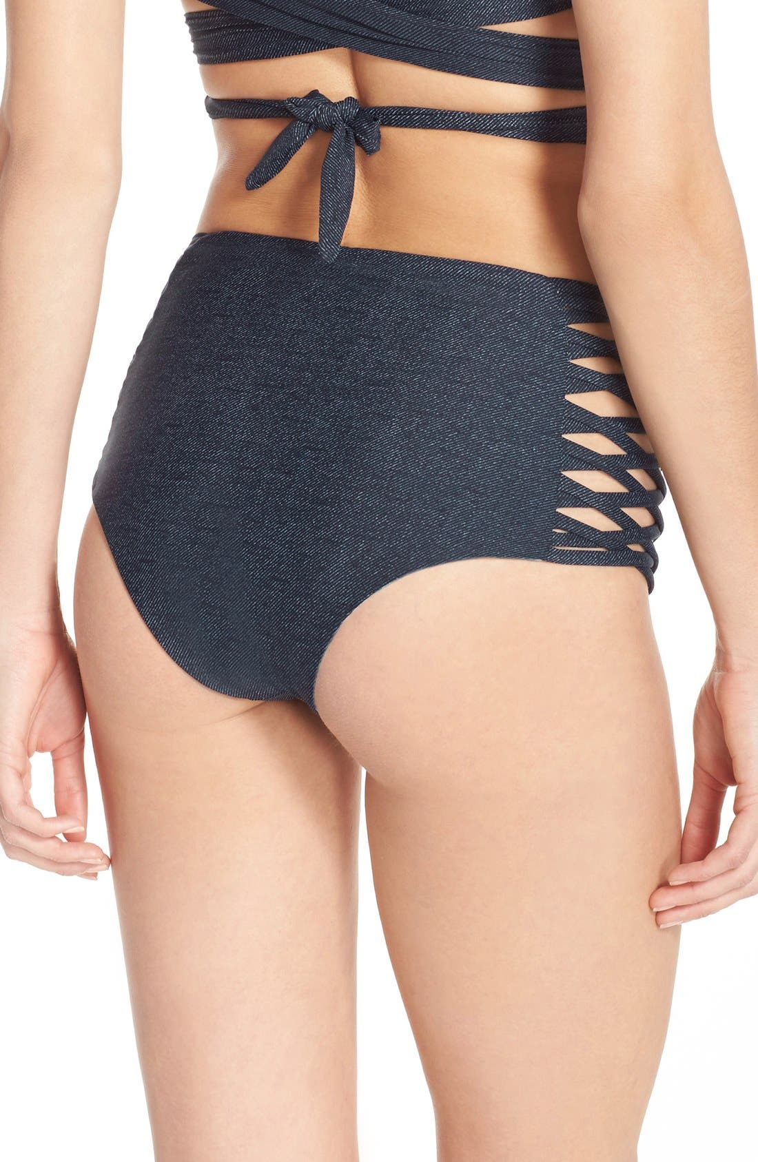 Alternate Image 3  - L Space 'Tigress' Reversible Bikini Bottoms
