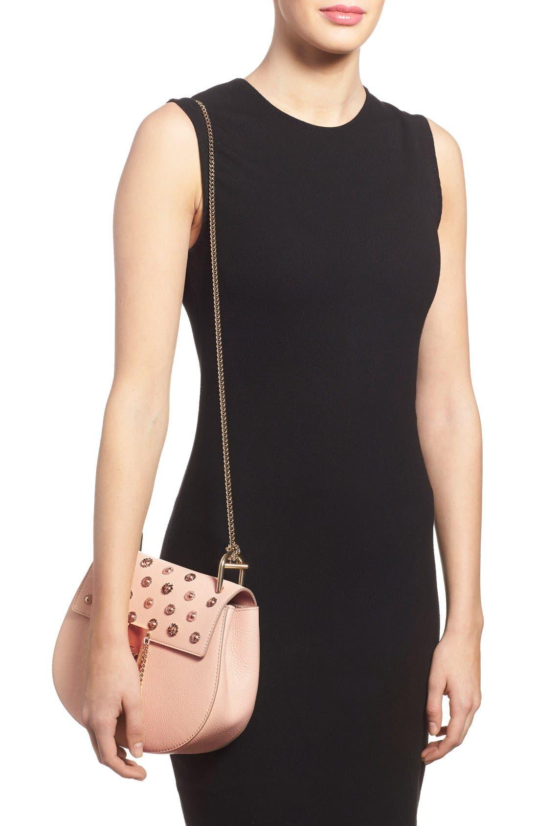 Alternate Image 2  - Chloé 'Small Drew' Goatskin Leather Shoulder Bag