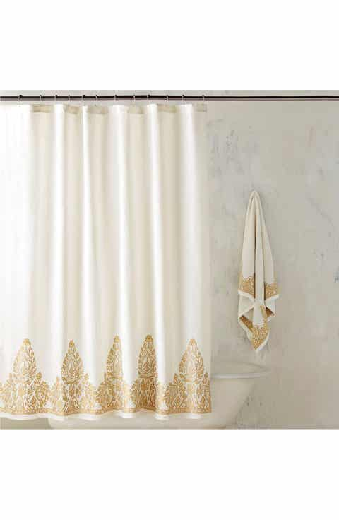 gold and silver shower curtain. John Robshaw  Nadir Shower Curtain Curtains Nordstrom