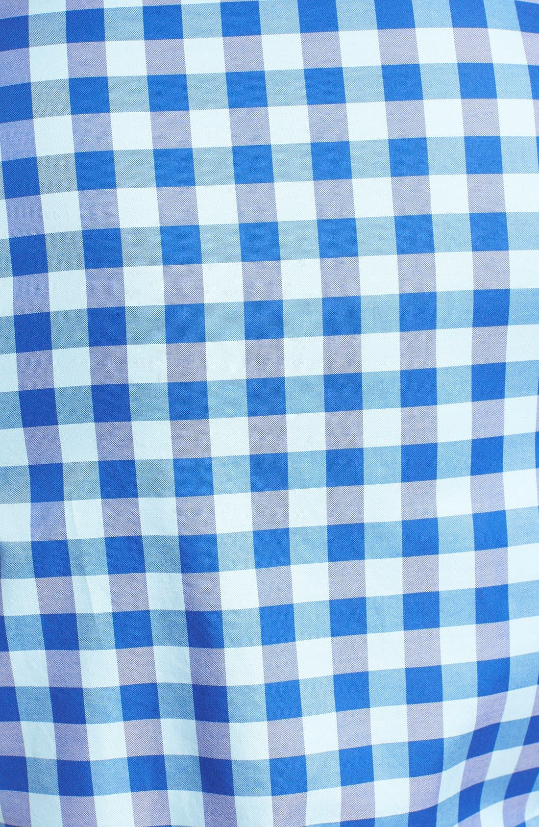 'Branston' Sports Fit Check Sport Shirt,                             Alternate thumbnail 5, color,                             Sky