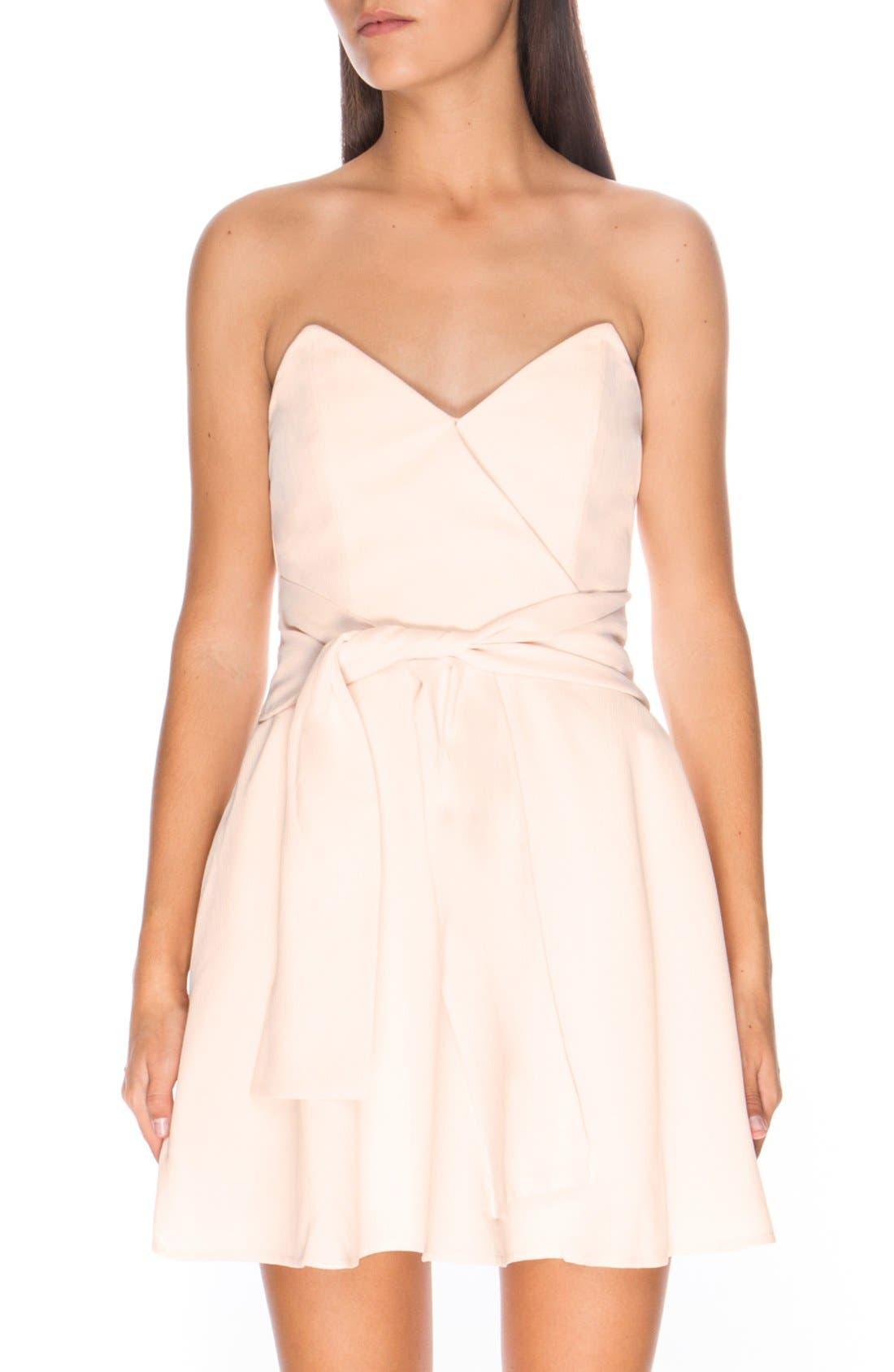 Alternate Image 1 Selected - Keepsake the Label 'Get Free' Strapless Minidress