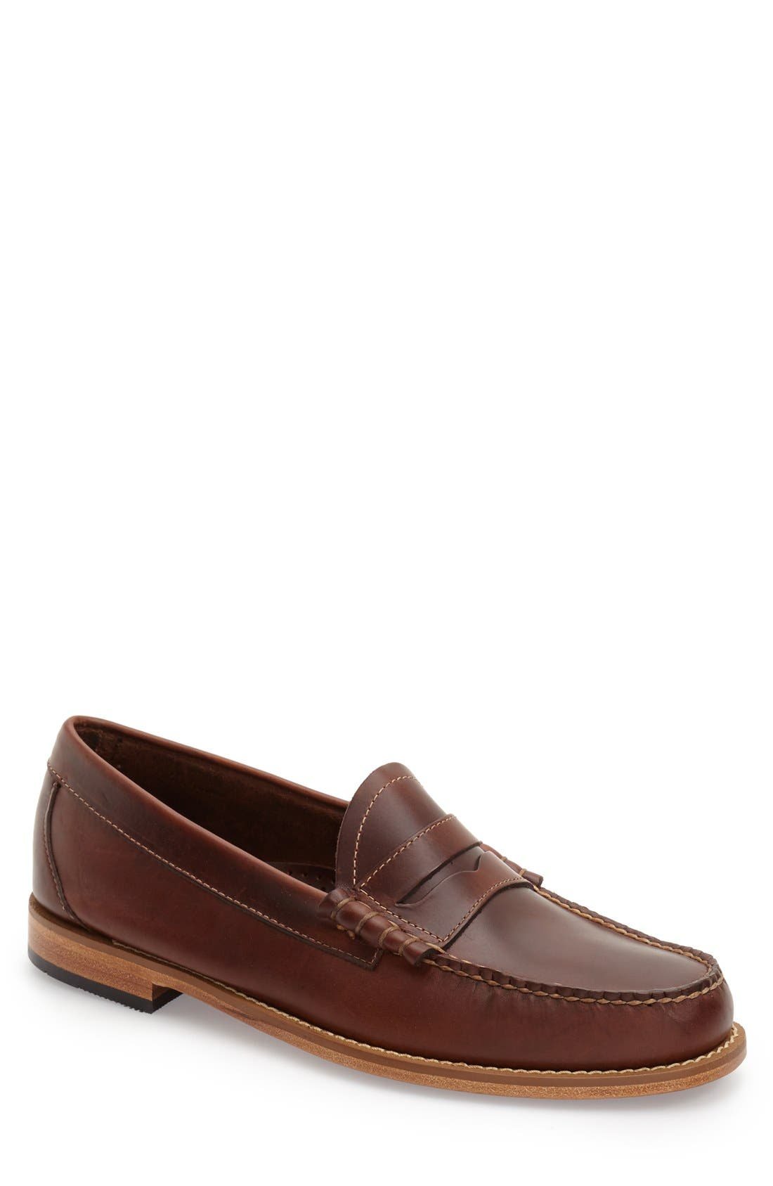 'Larson - Weejuns' Penny Loafer,                         Main,                         color, Seahorse Leather