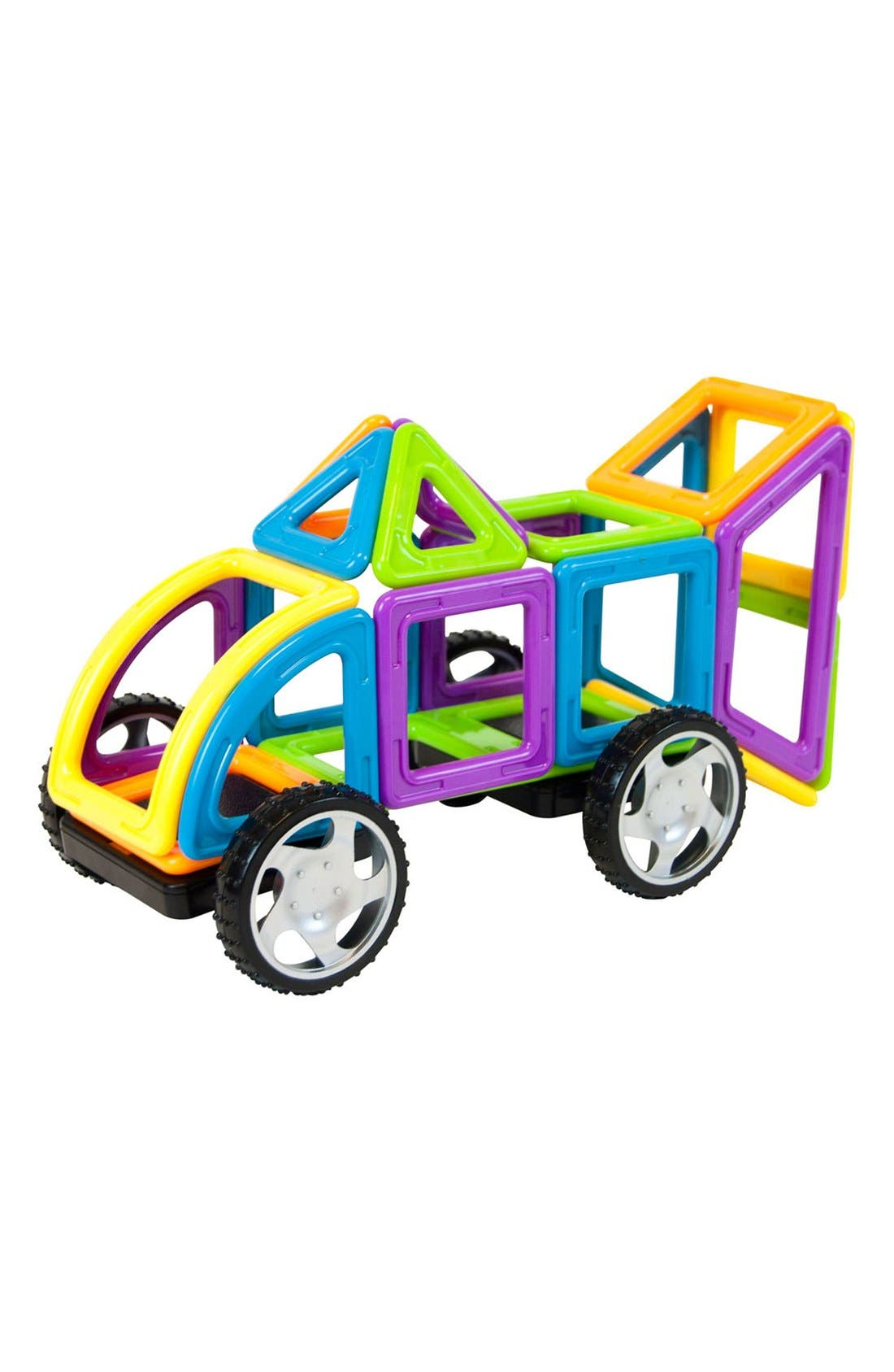 'Vehicle - WOW' Magnetic 3D Construction Set,                             Alternate thumbnail 7, color,                             Opaque Rainbow