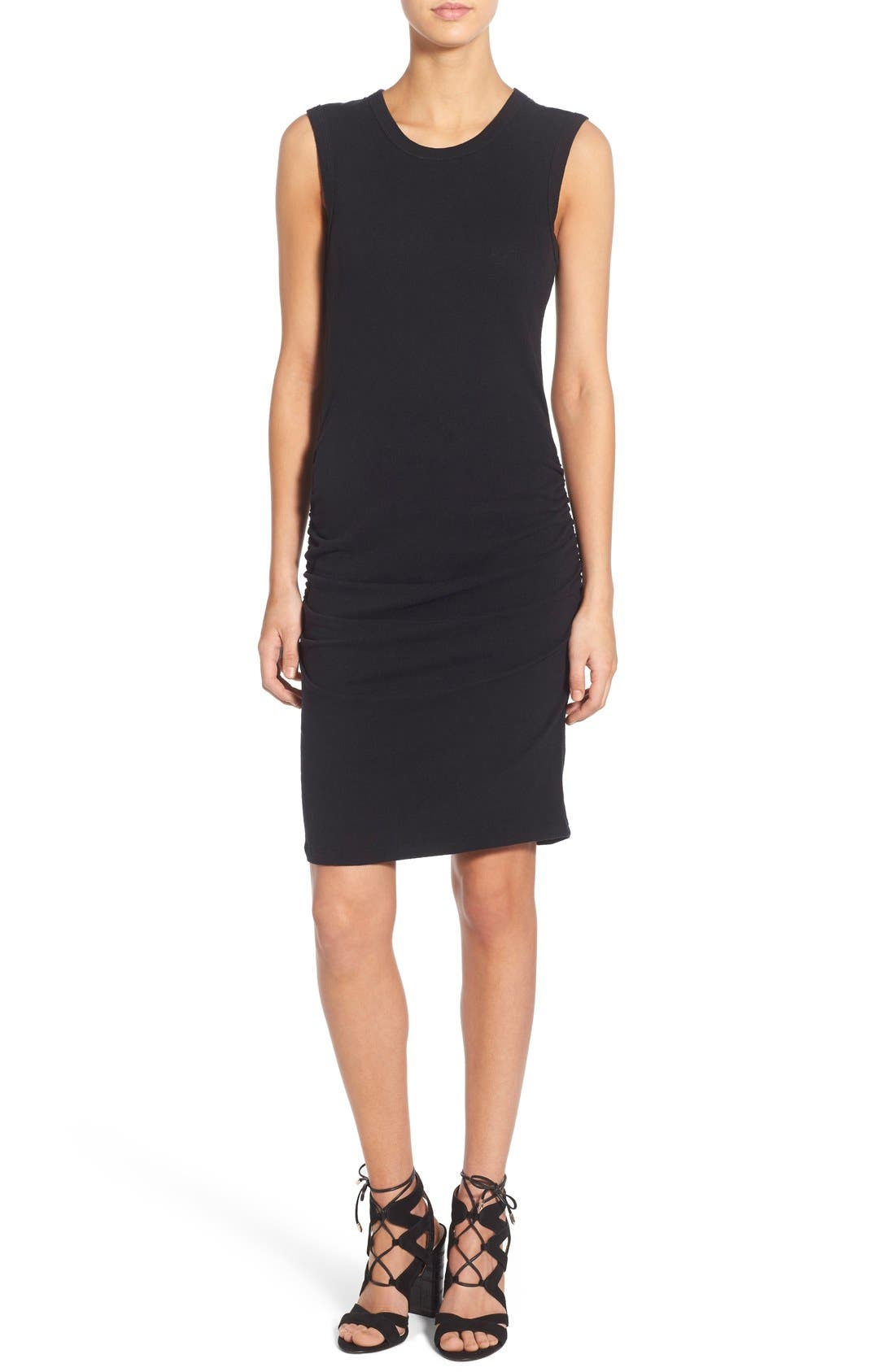 Alternate Image 1 Selected - James Perse Ruched Tank Dress