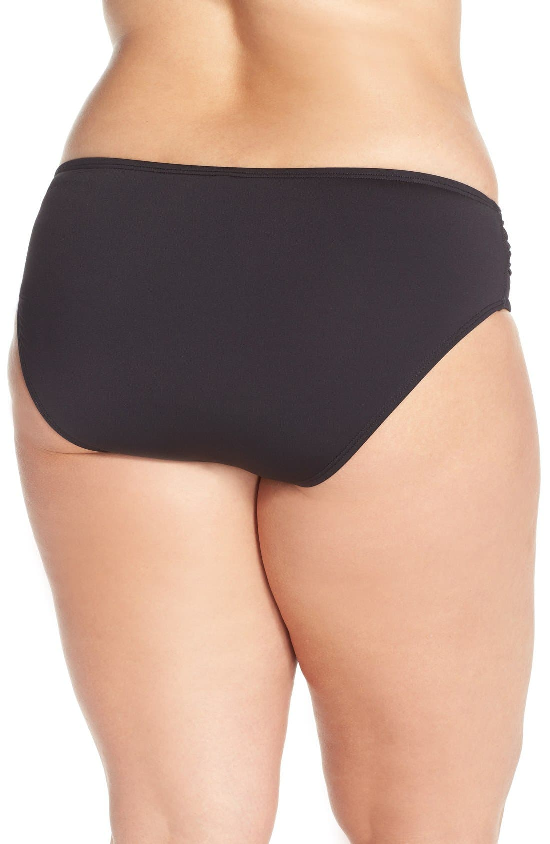 Alternate Image 2  - Tommy Bahama 'Pearl' Bikini Bottoms (Plus Size) (Nordstrom Exclusive)