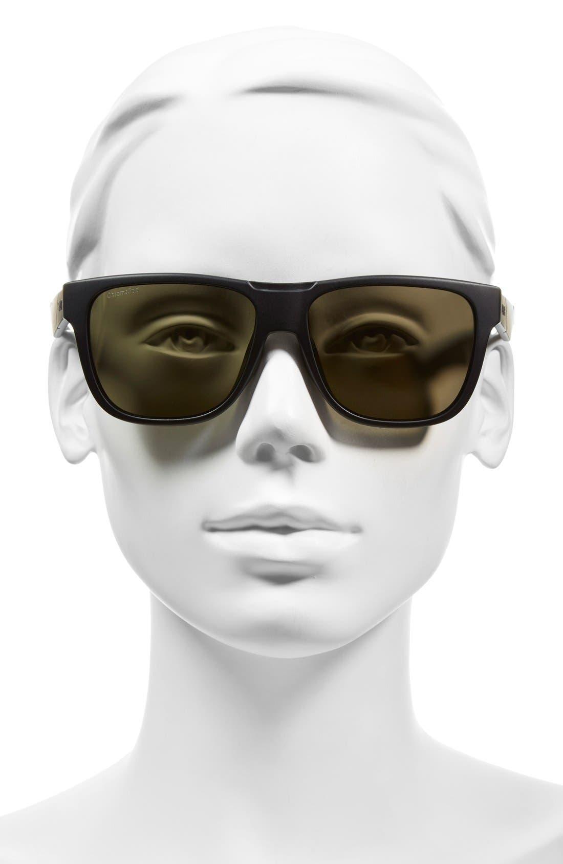 Alternate Image 2  - Smith 'Lowdown' 56mm Polarized Sunglasses