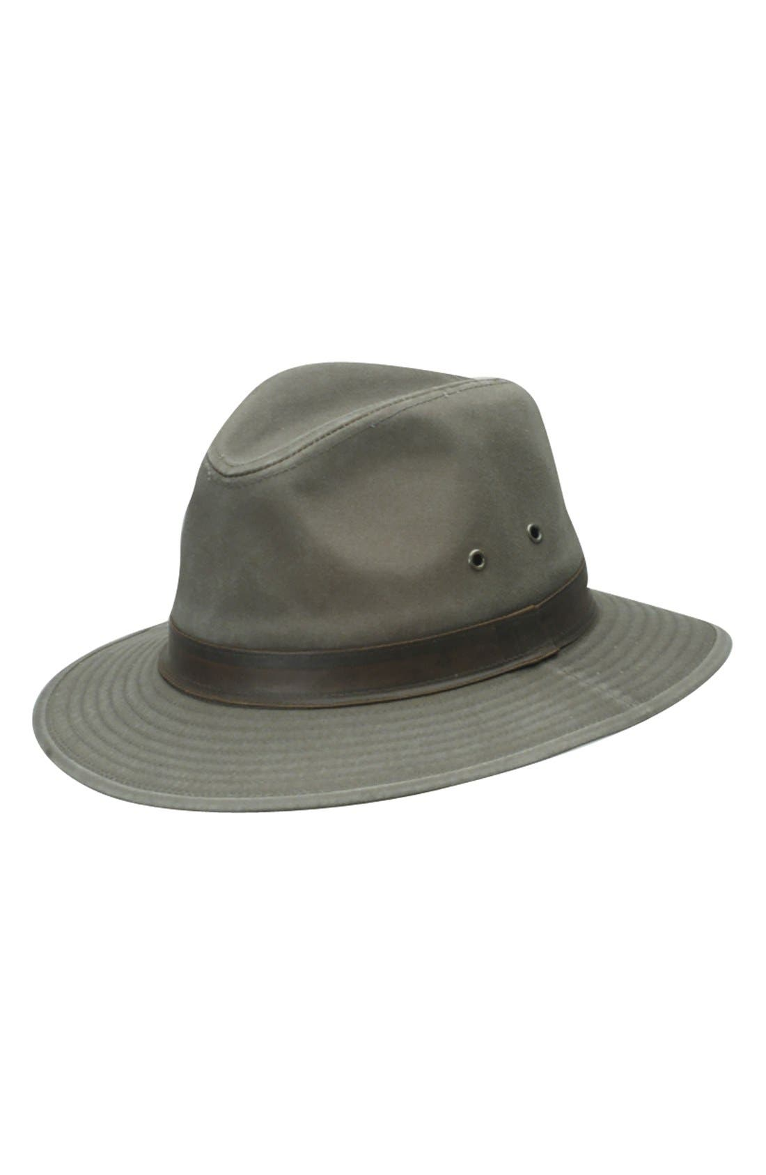 Alternate Image 1 Selected - Dorfman Pacific Safari Fedora