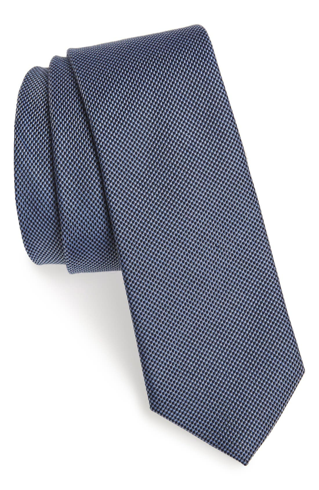 CALIBRATE Textured Cotton & Silk Tie