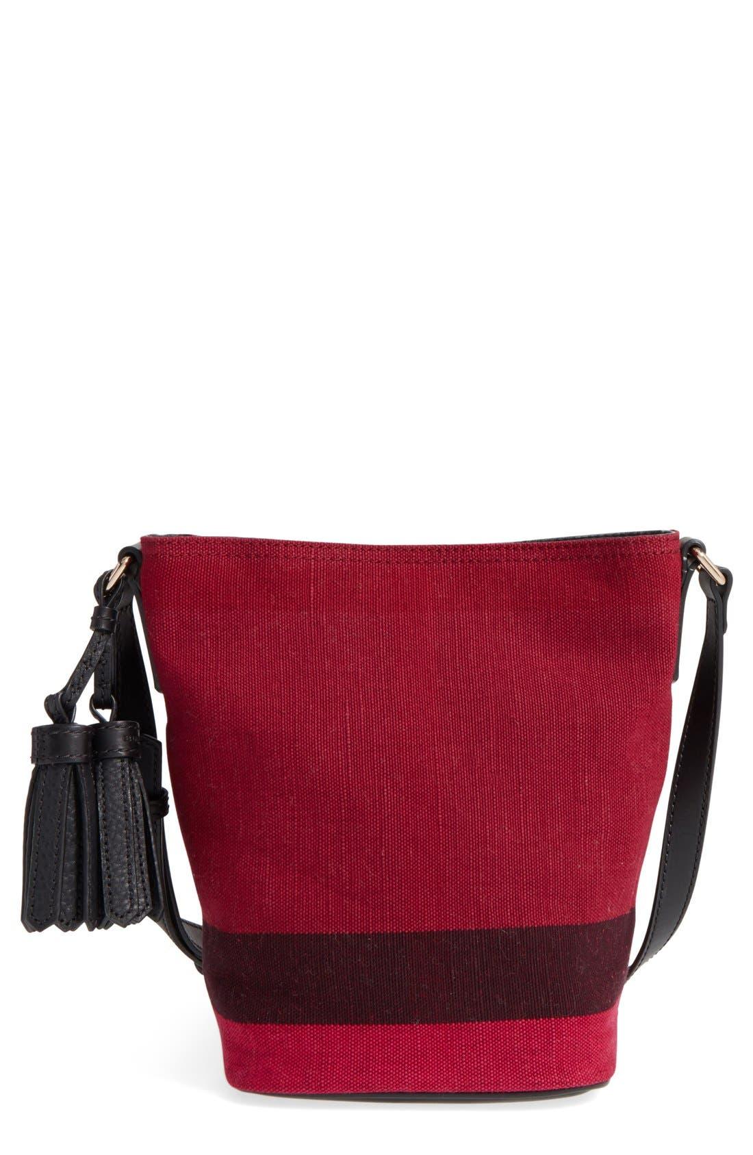 Main Image - Burberry 'Mini Ashby' Bucket Bag