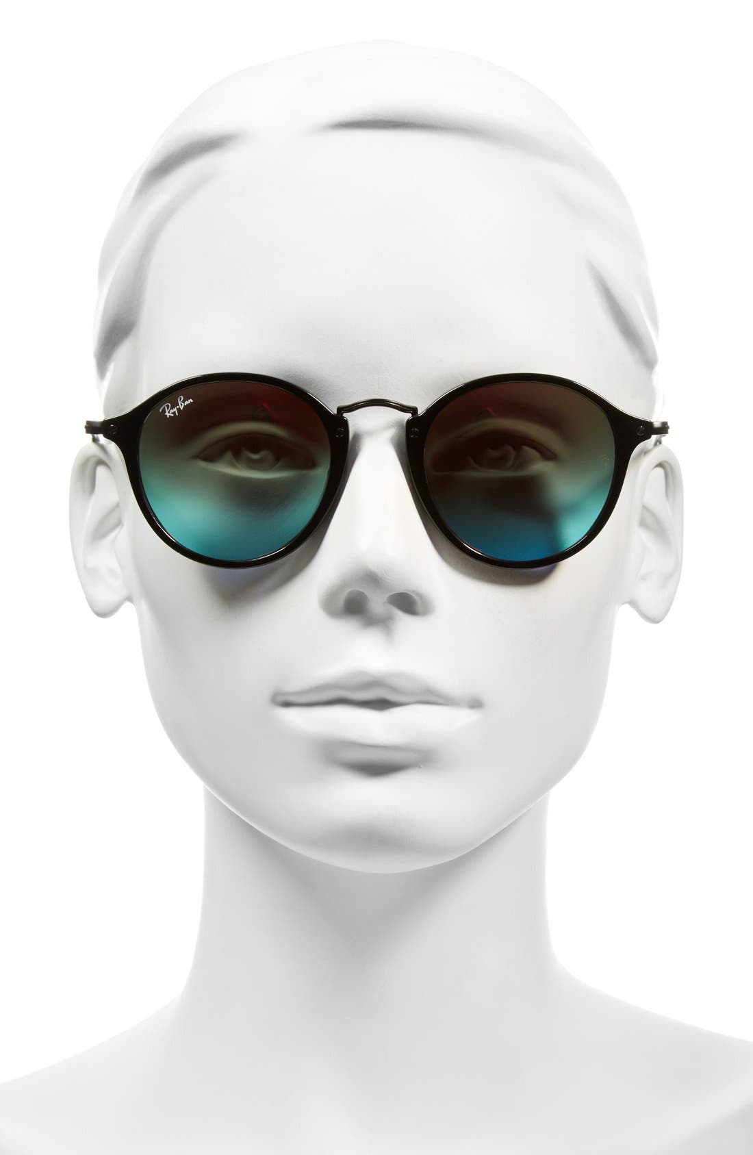 Alternate Image 2  - Ray-Ban Icons 49mm Round Sunglasses