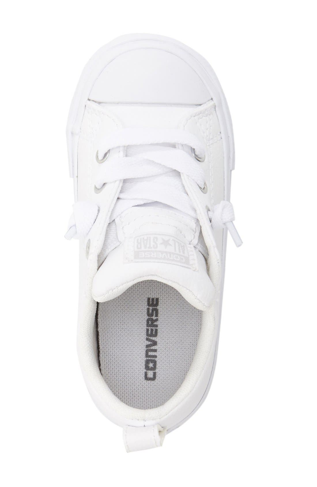 Alternate Image 3  - Converse Chuck Taylor® All Star® Ox Faux Leather Sneaker (Toddler, Little Kid & Big Kid)