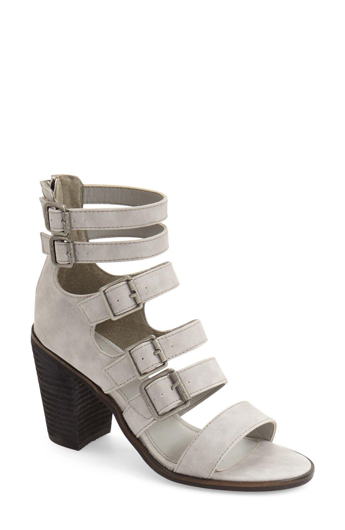 Alternate Image 1 Selected - Rebels 'Yandy' Strappy Block Heel Sandal (Women)