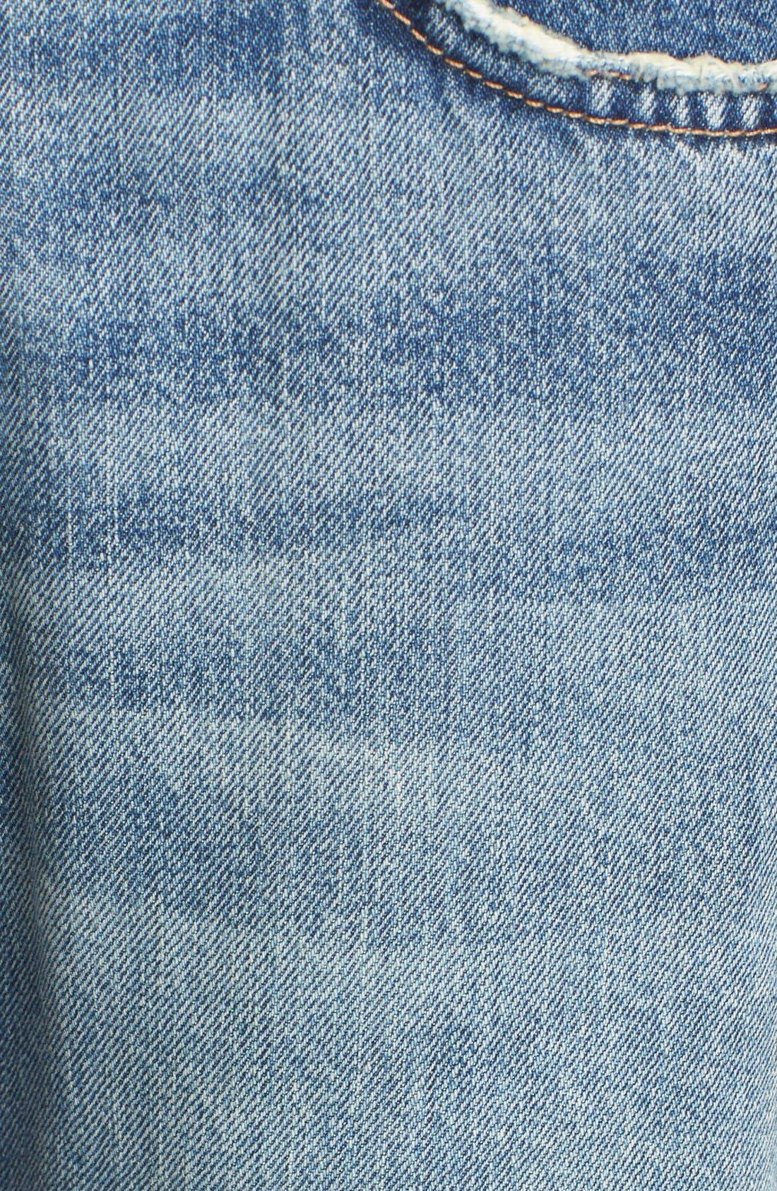 Alternate Image 5  - Current/Elliott 'The Fling' Jeans (Bedford Destroyed)