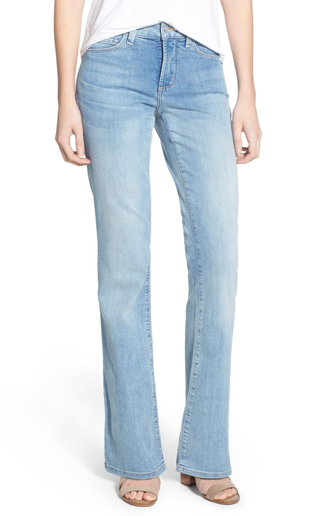 NYDJ 'Barbara' Stretch Bootcut Jeans (Burbank) (Regular & Petite)