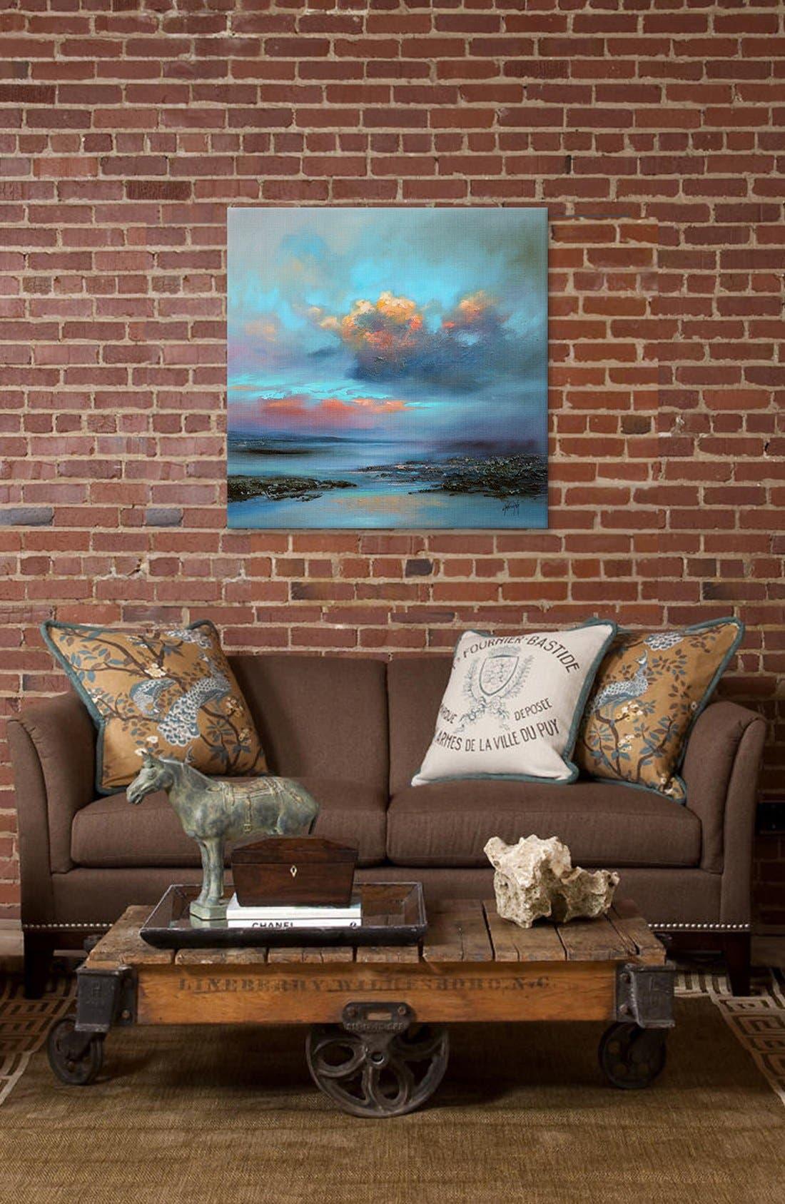 Alternate Image 2  - iCanvas 'Hebridean Light I' Giclée Print Canvas Art