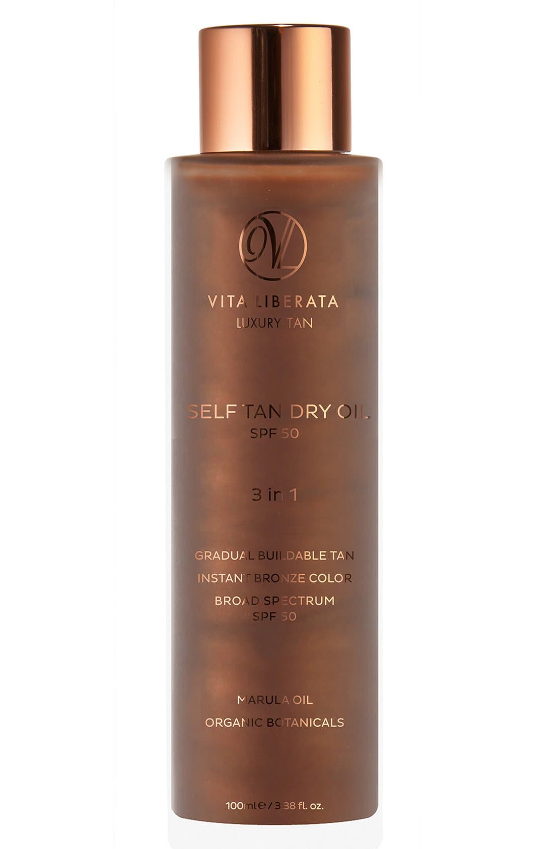 VITA LIBERATA Self Tan Dry Oil SPF 50