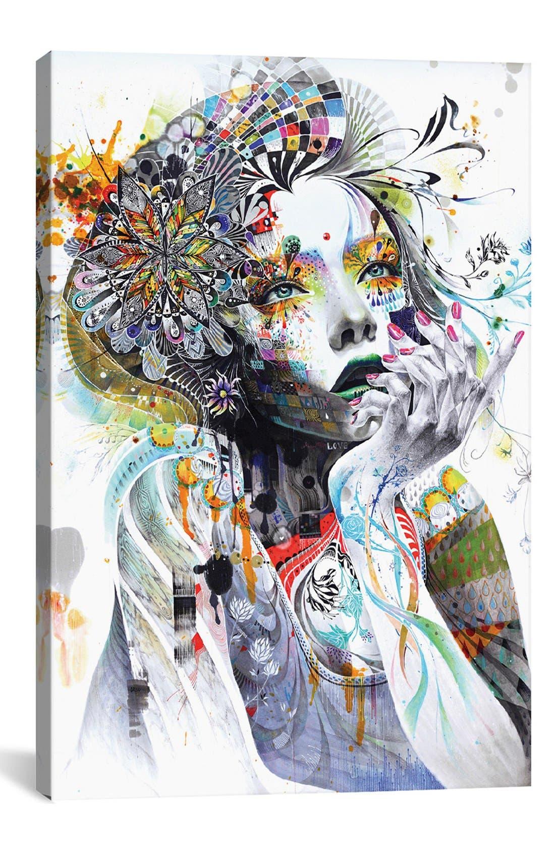 Main Image - iCanvas 'Circulation' Giclée Print Canvas Art
