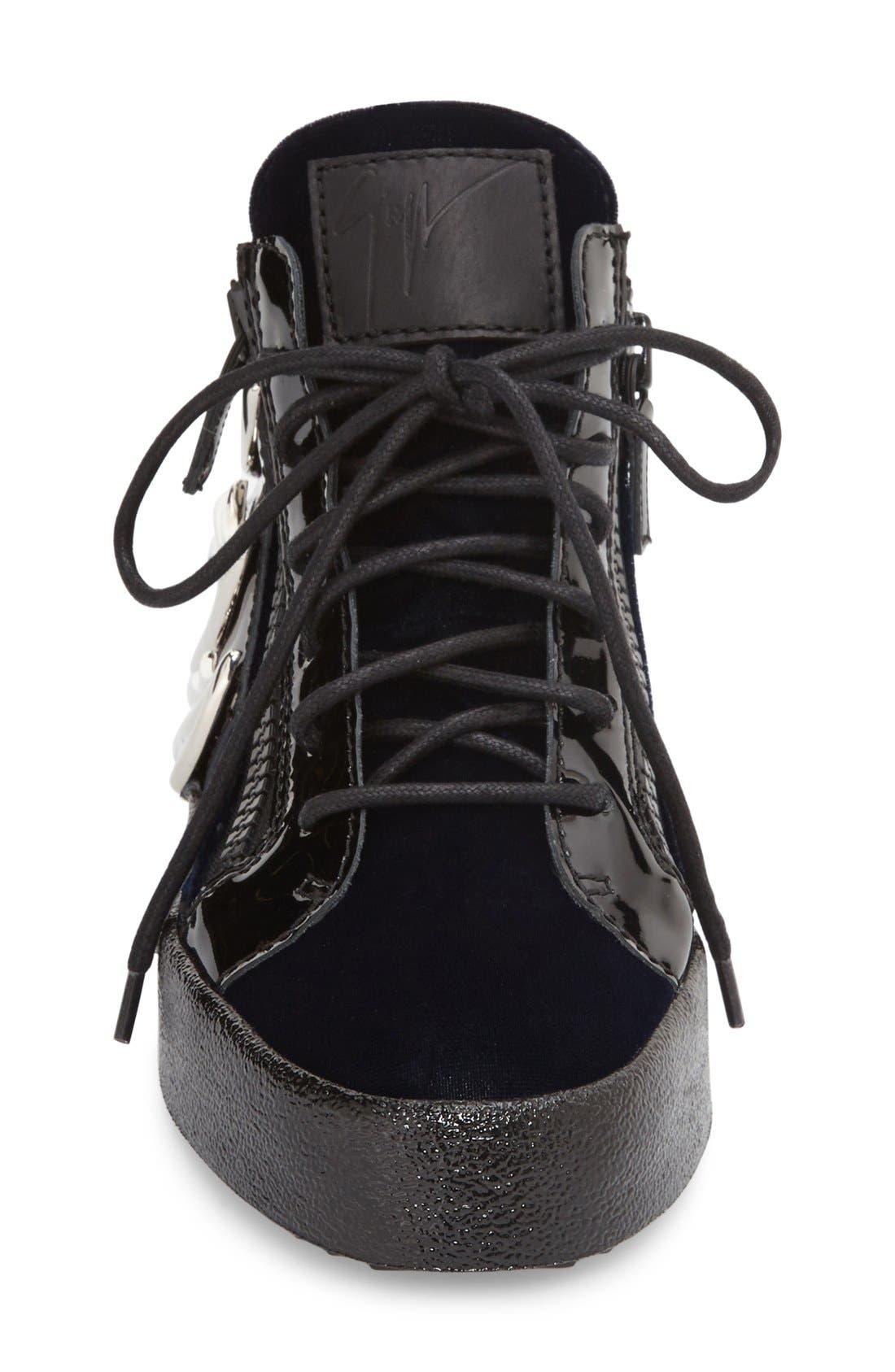 Alternate Image 3  - Giuseppe Zanotti 'May London' High Top Sneaker (Women)