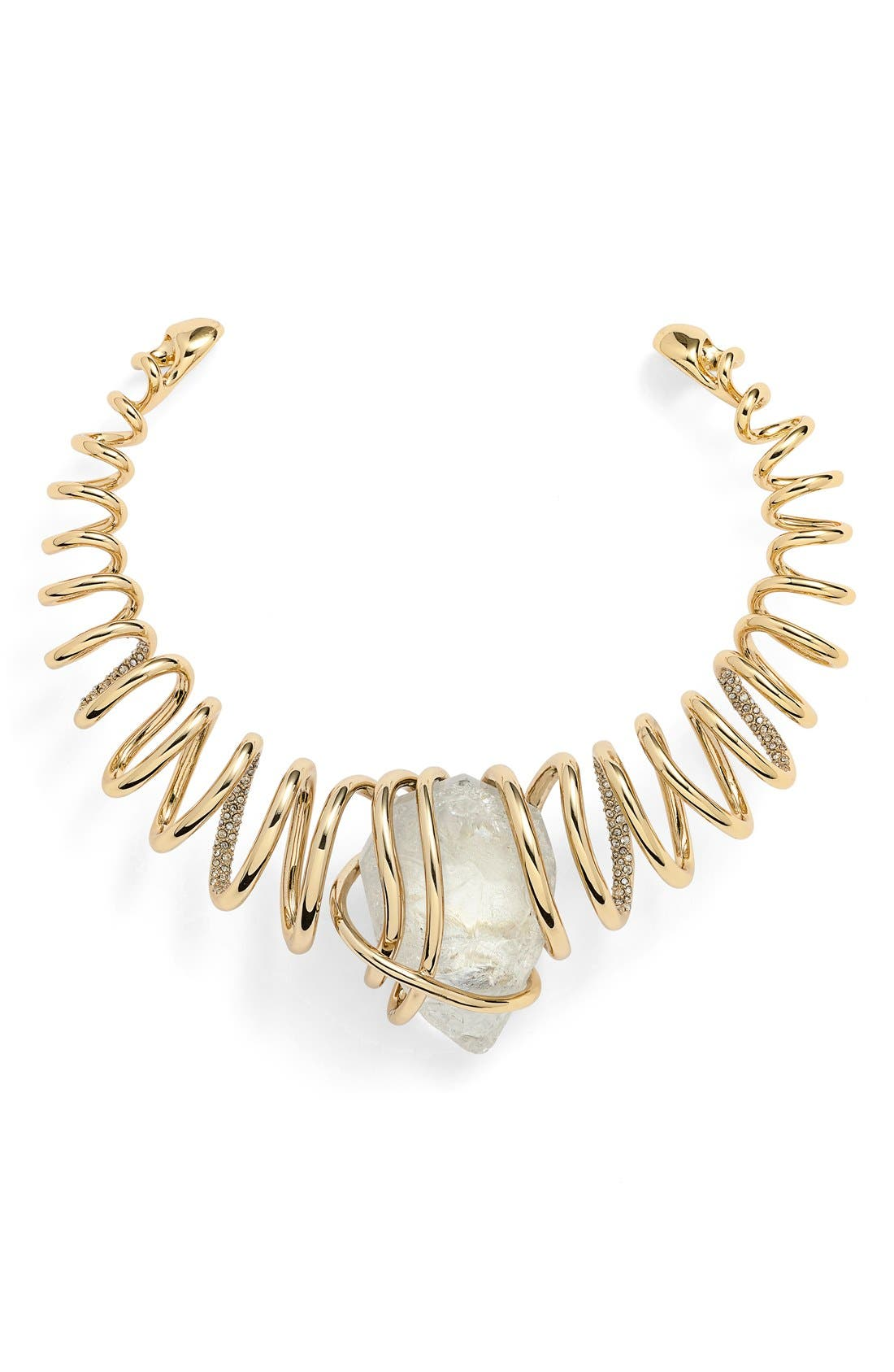 Alternate Image 1 Selected - Alexis Bittar 'Miss Havisham' Encrusted Spiral Collar Necklace