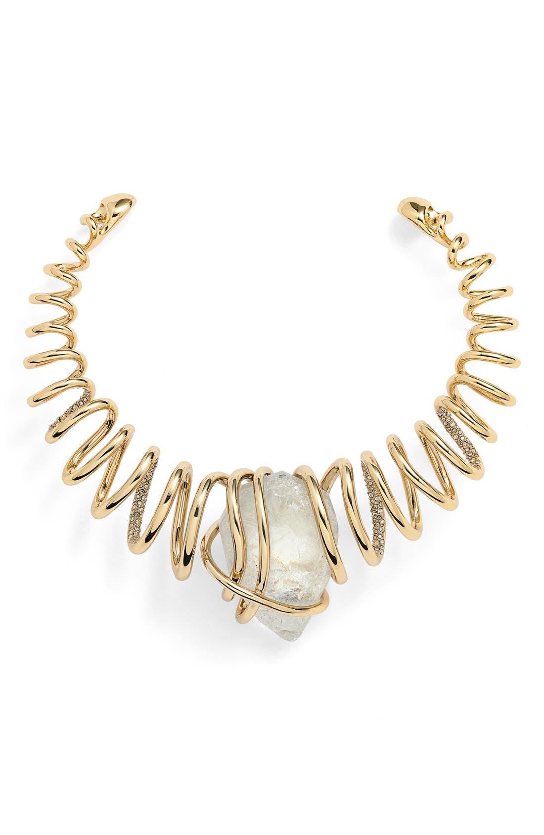 Main Image - Alexis Bittar 'Miss Havisham' Encrusted Spiral Collar Necklace
