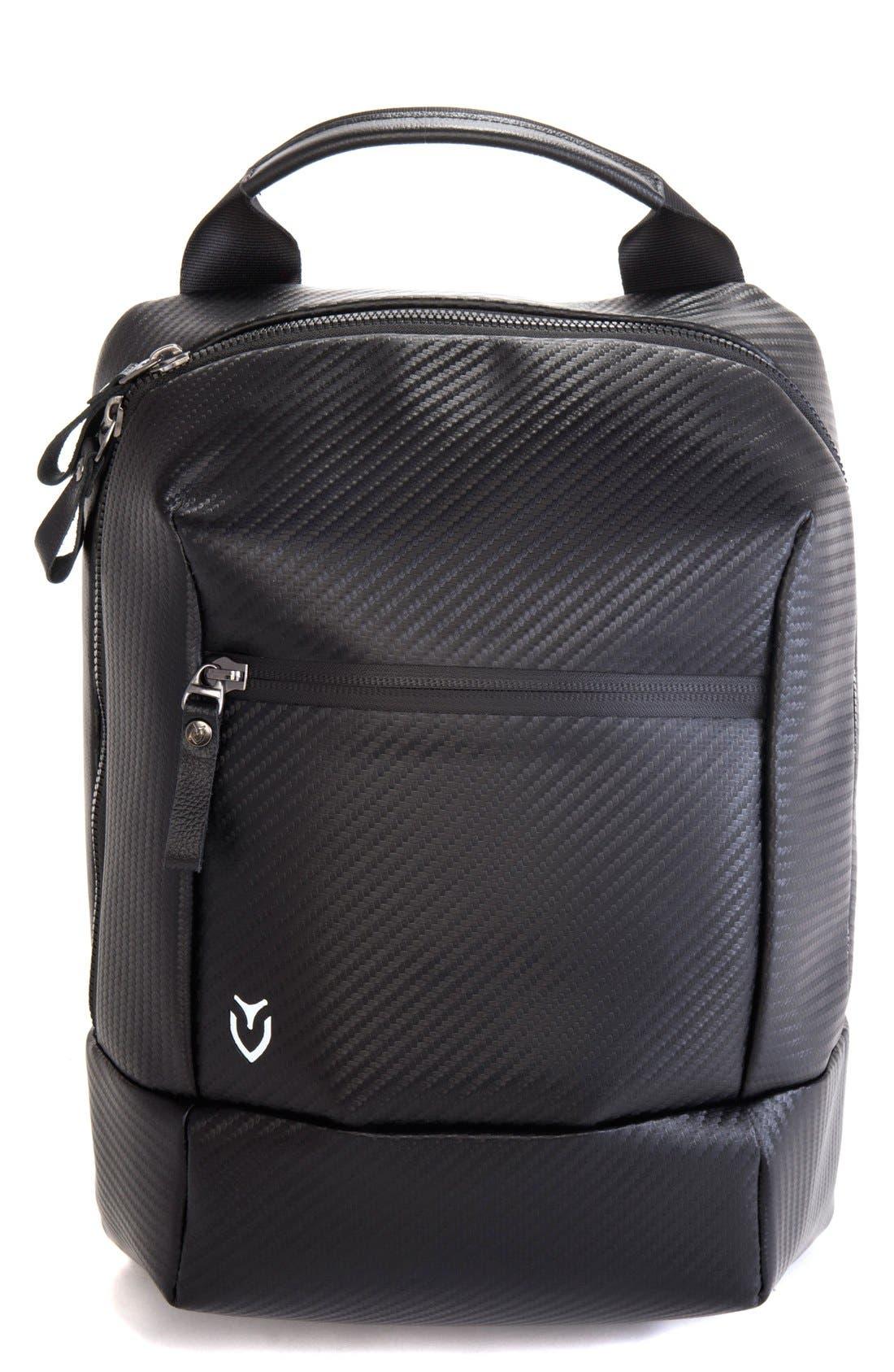 Alternate Image 1 Selected - Vessel Pebbled Faux Leather Shoe Bag