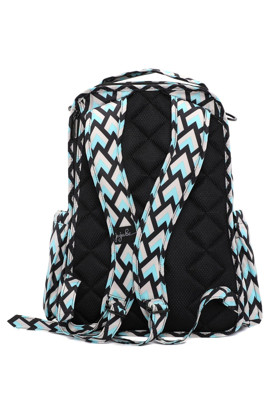 Alternate Image 6  - Ju-Ju-Be 'Be Right Back - Onyx Collection' Diaper Backpack