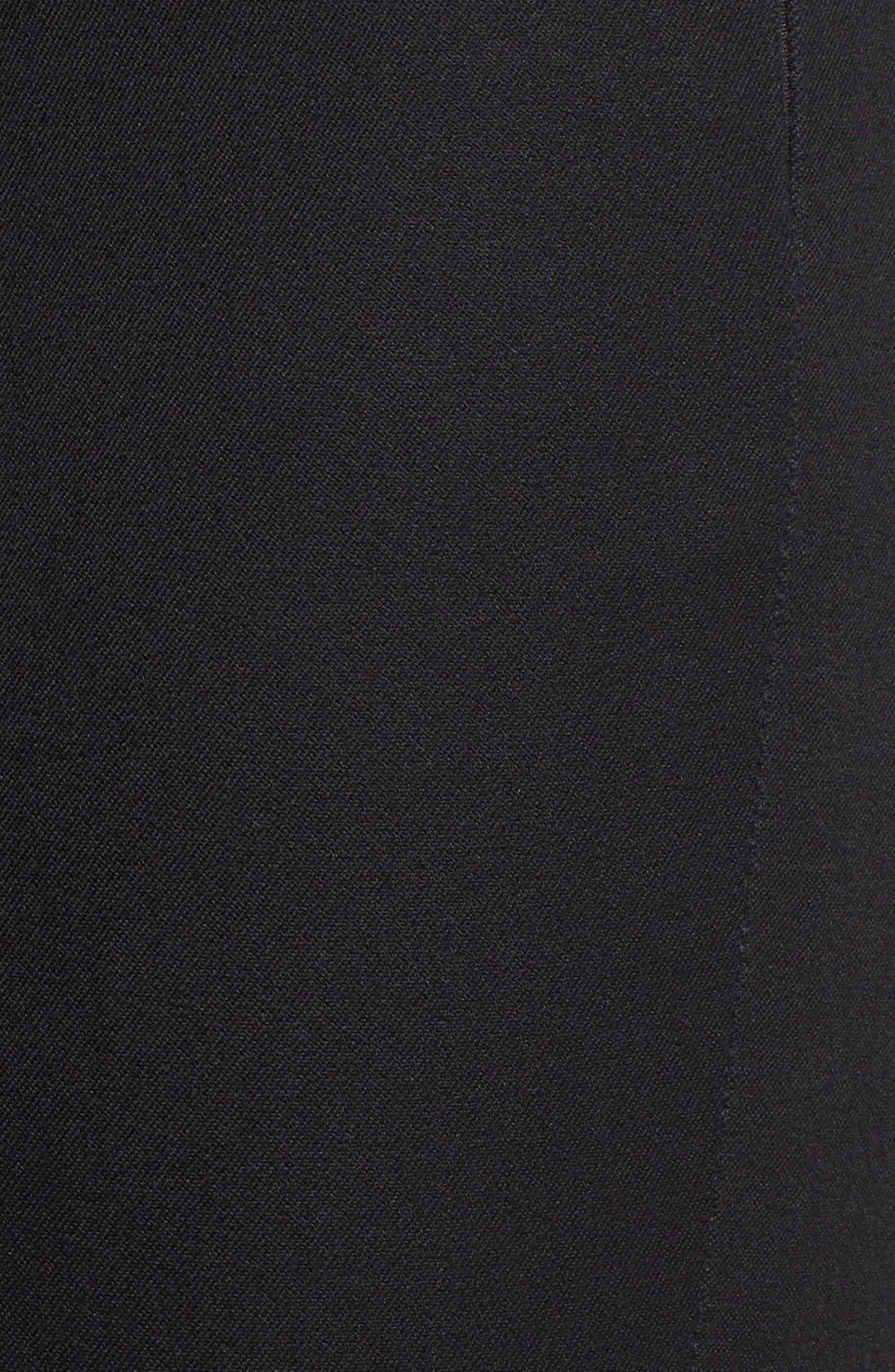 Alternate Image 5  - MICHAEL Michael Kors 'Hutton' Ankle Zip Slim Pintuck Pants (Petite)