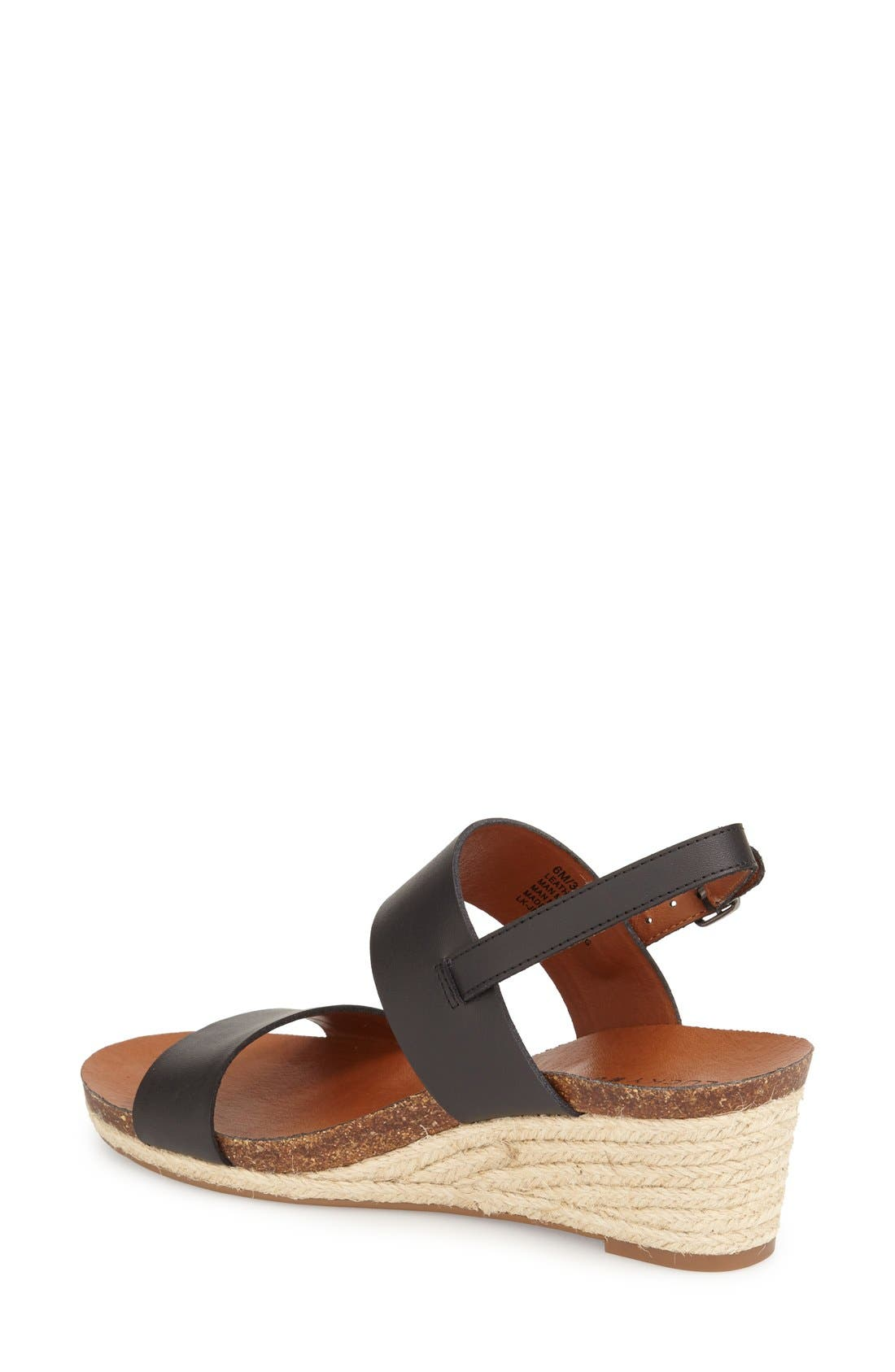 Alternate Image 2  - Lucky Brand 'Jette' Wedge Sandal (Women)