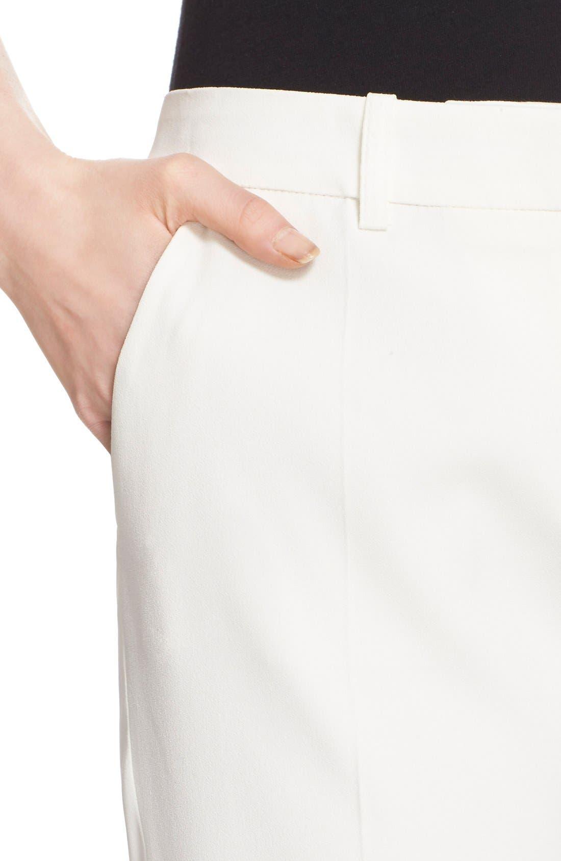 Alternate Image 4  - The Kooples Stretch Crepe Ankle Pants