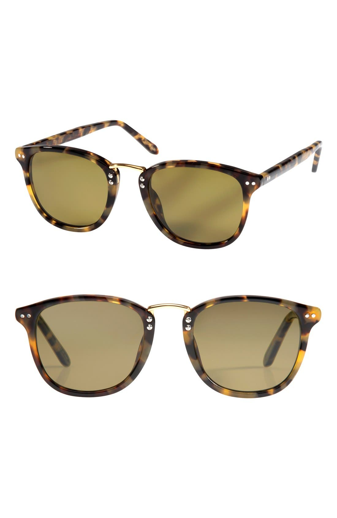 Alternate Image 1 Selected - KREWE 'Franklin' 49mm Polarized Retro Sunglasses